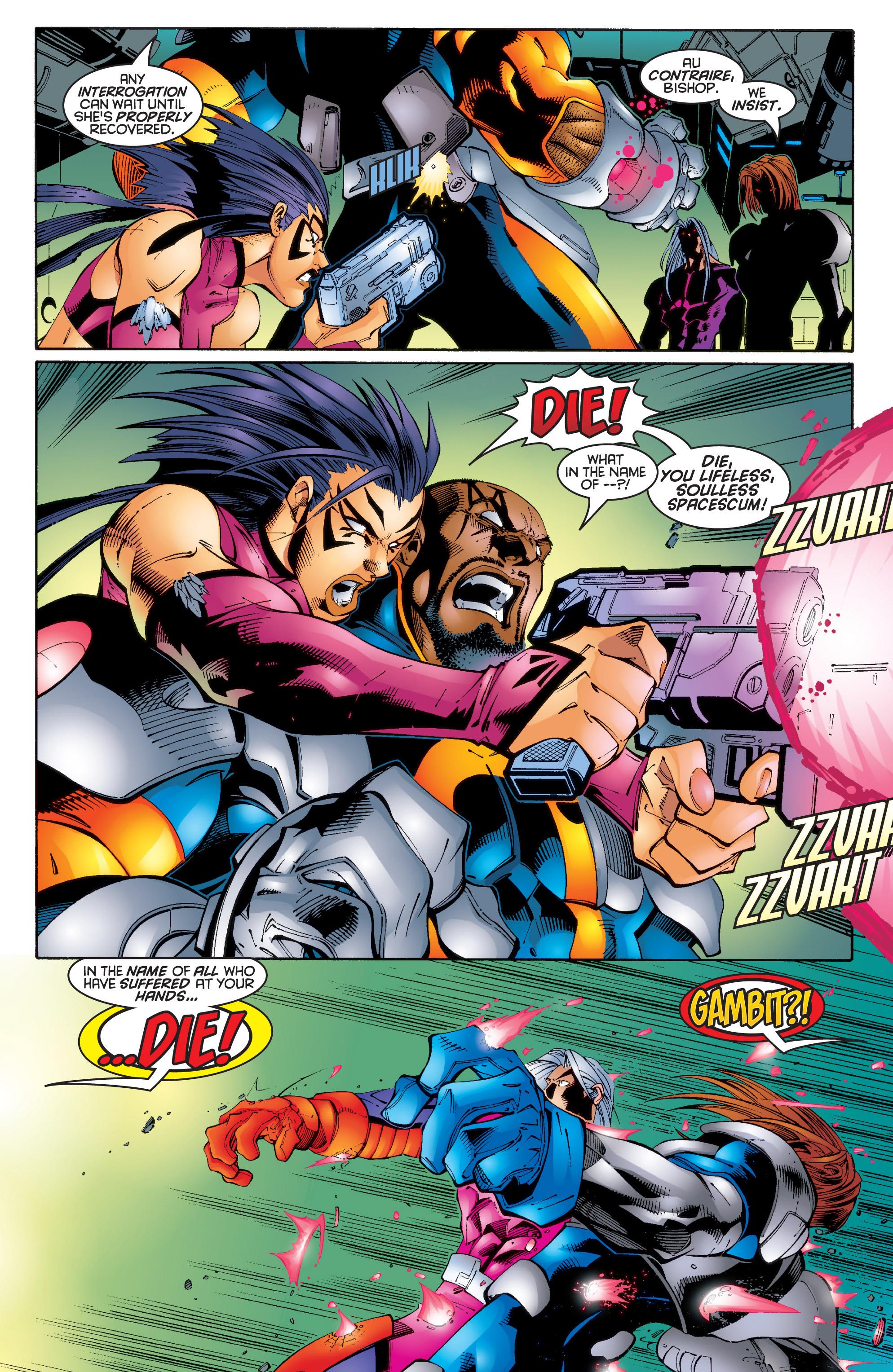 Read online Uncanny X-Men (1963) comic -  Issue #343 - 6