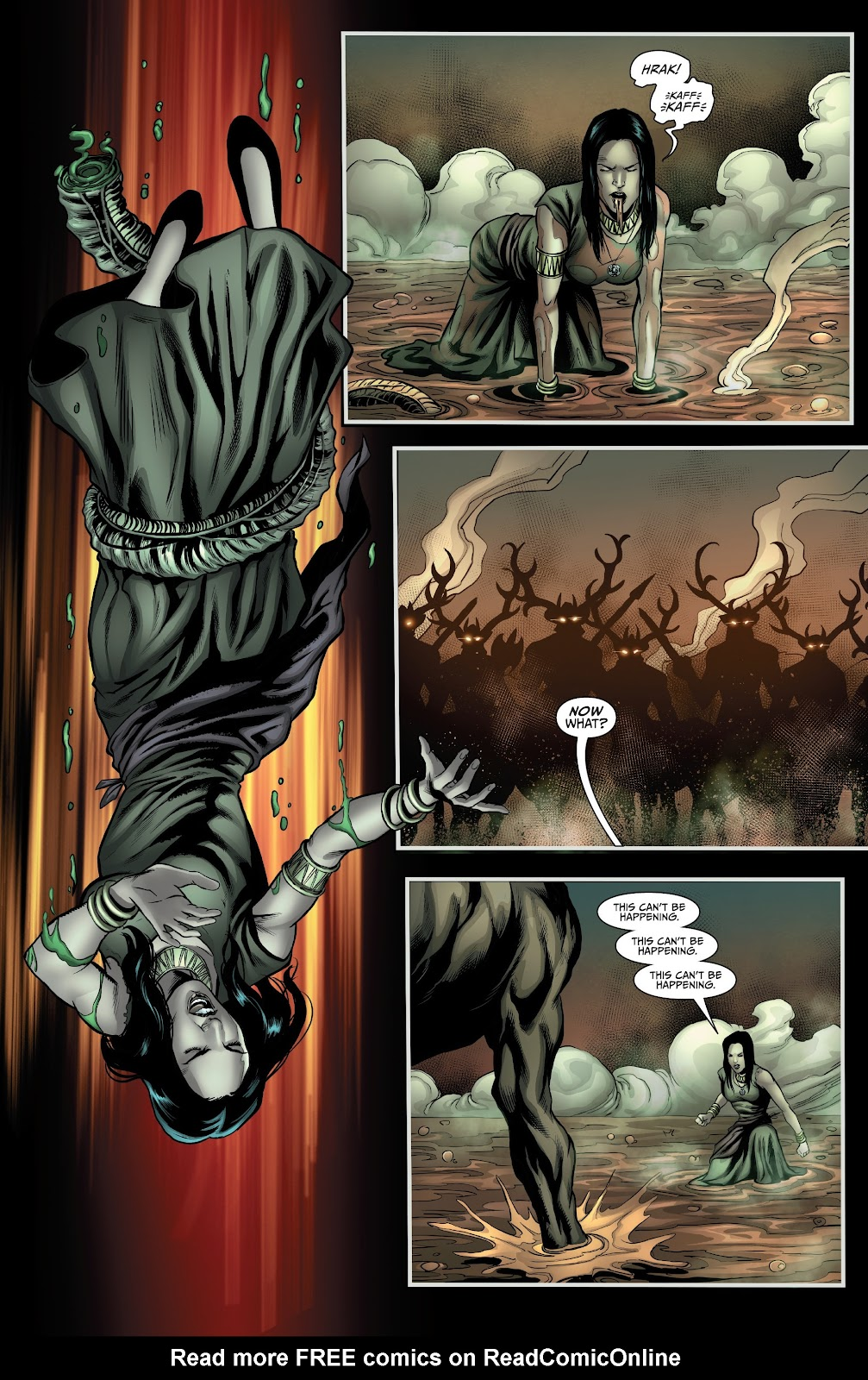 Read online Van Helsing: Sword of Heaven comic -  Issue #5 - 15