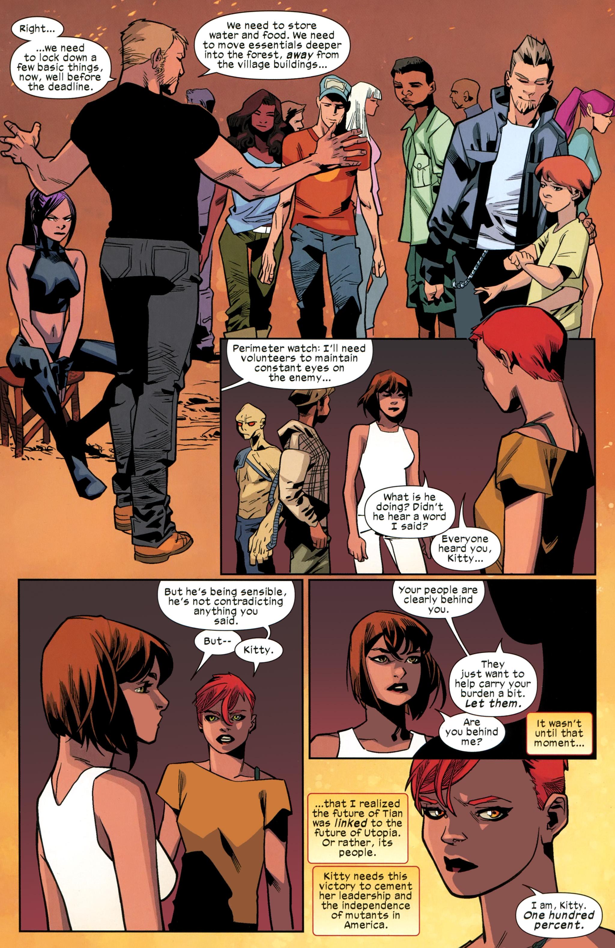 Read online Ultimate Comics X-Men comic -  Issue #26 - 21