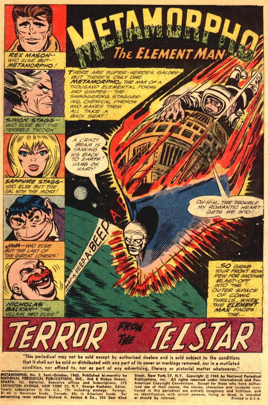 Metamorpho (1965) issue 2 - Page 2