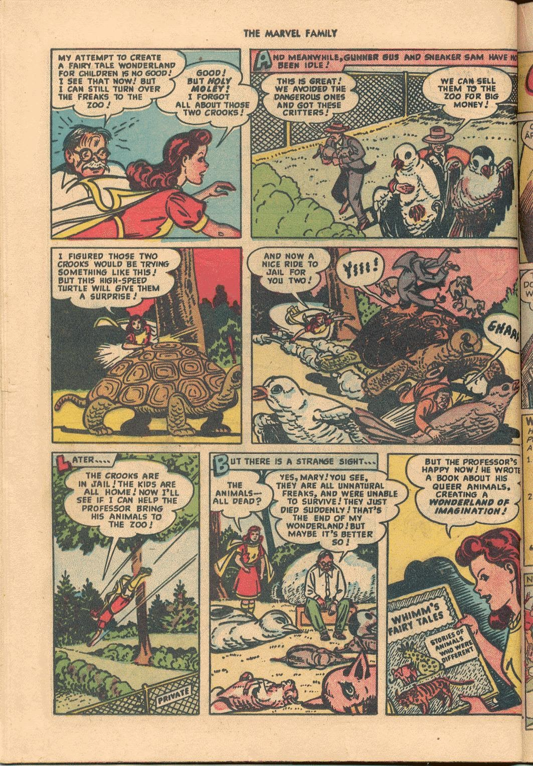 The Marvel Family issue 38 - Page 32