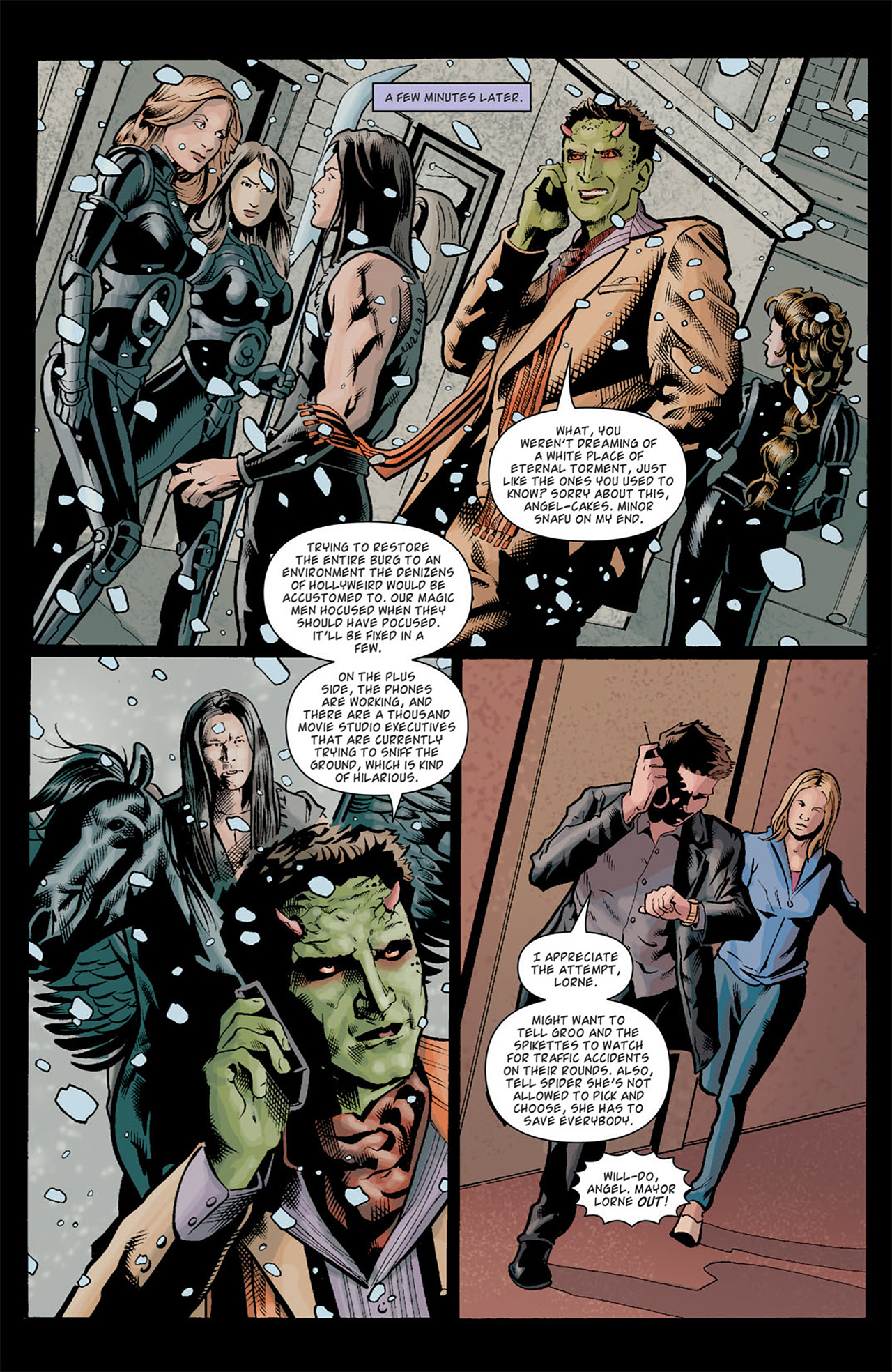 Read online Angel: After The Fall comic -  Issue #10 - 7