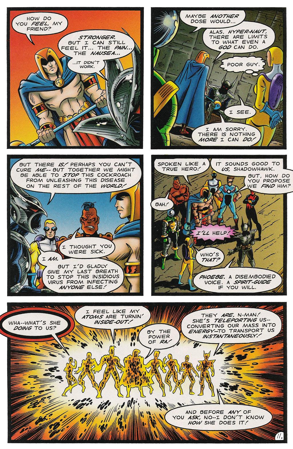 Read online ShadowHawk comic -  Issue #14 - 12