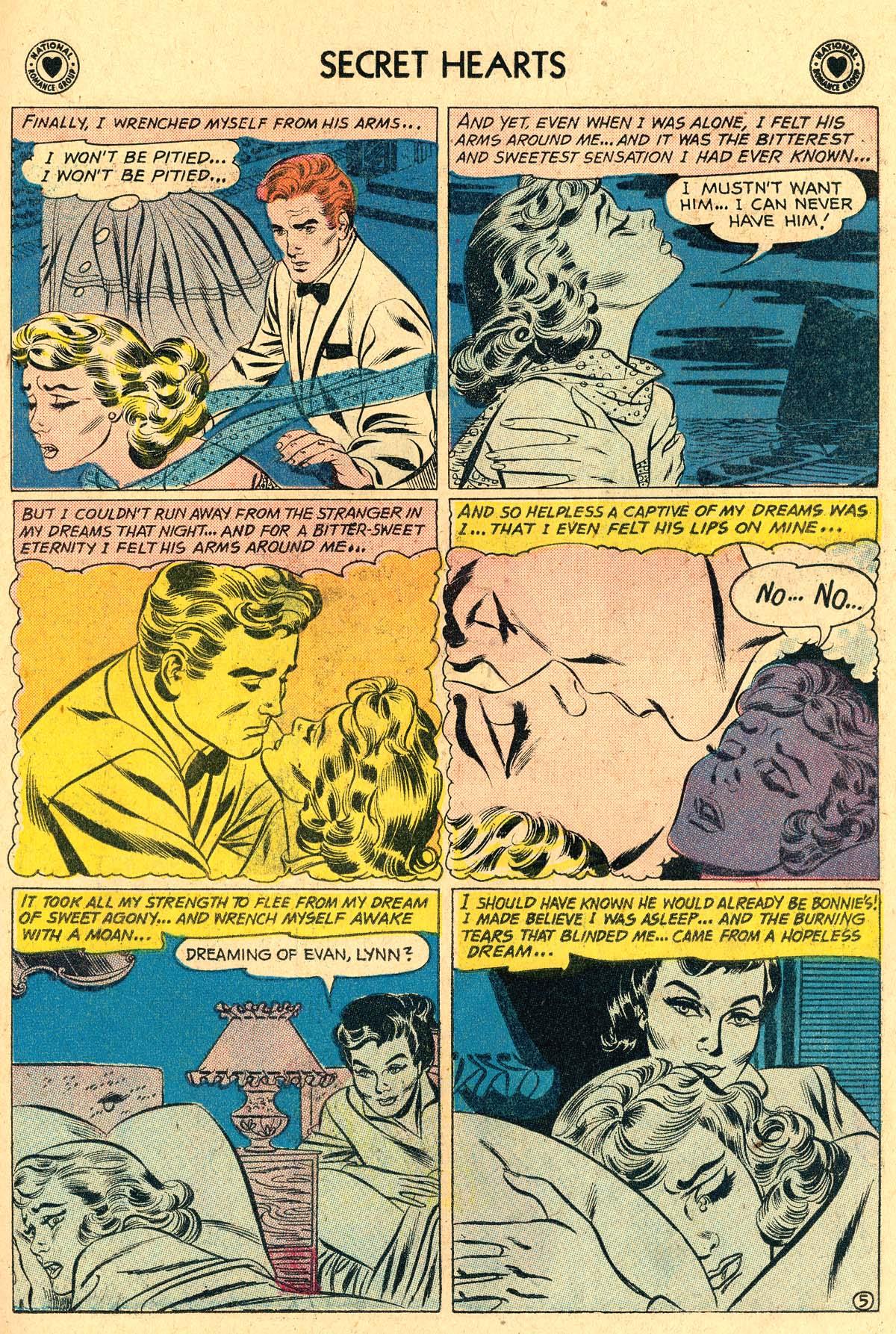 Read online Secret Hearts comic -  Issue #60 - 31