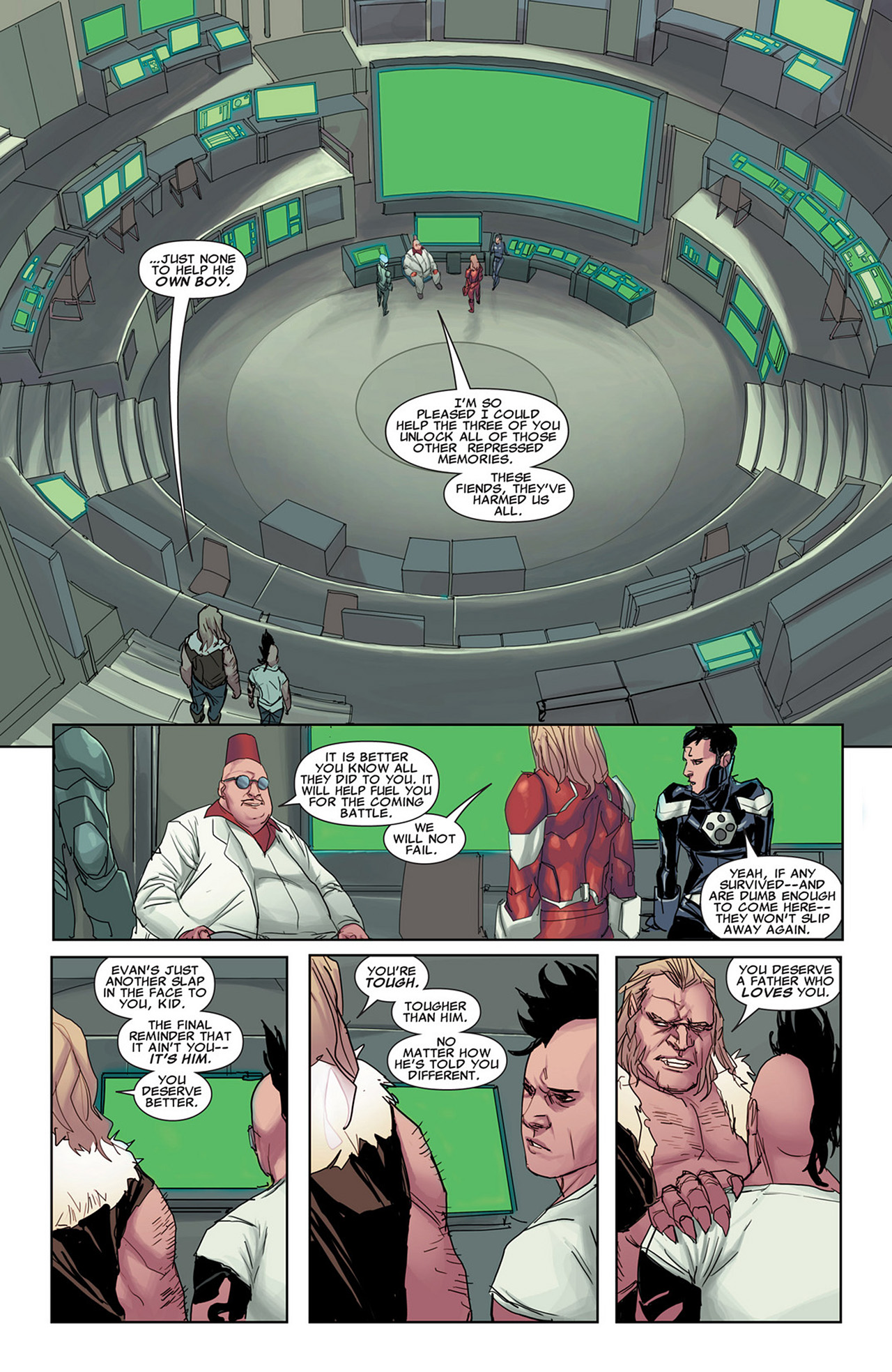 Read online Uncanny X-Force (2010) comic -  Issue #31 - 16
