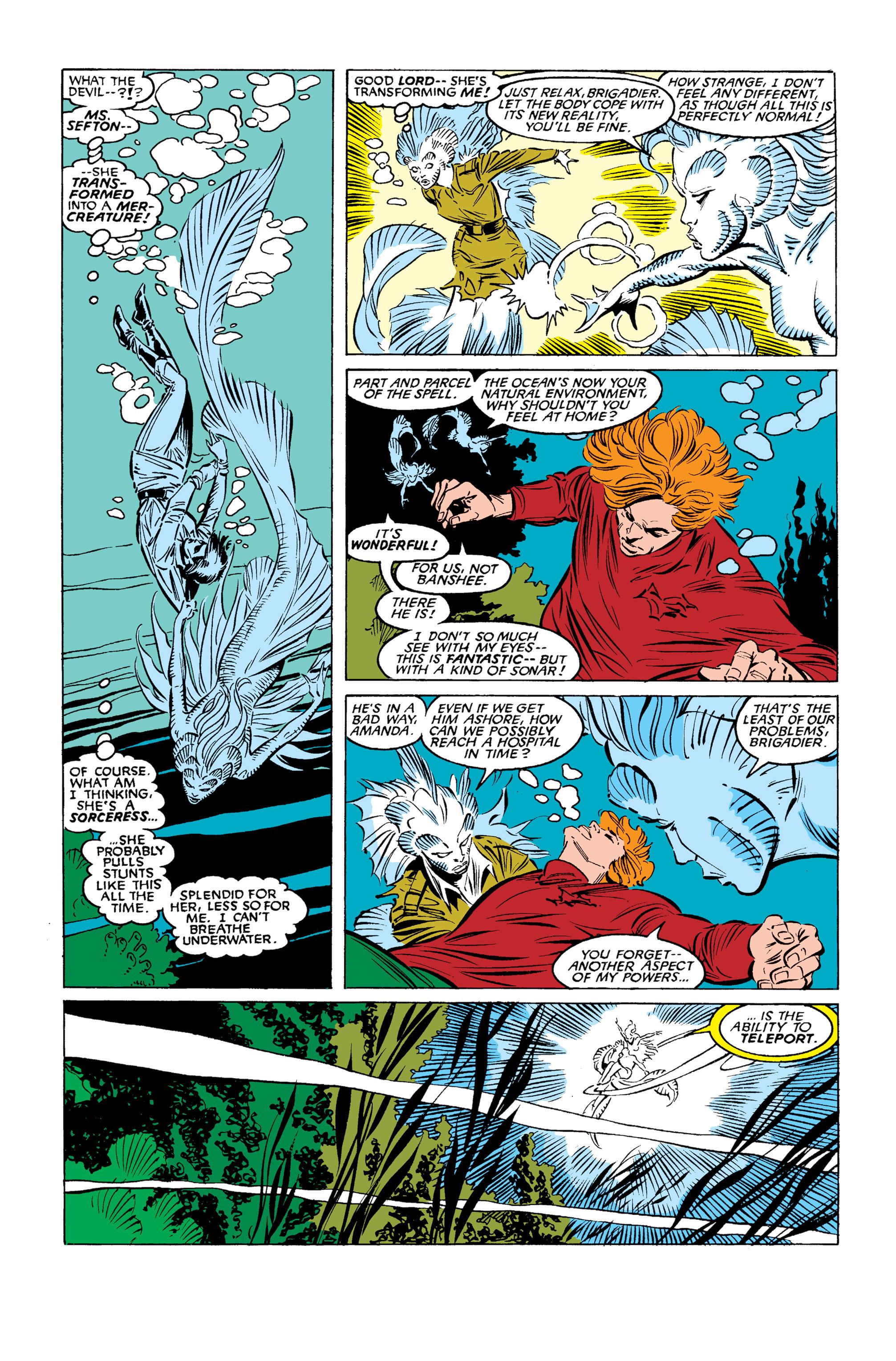 Read online Uncanny X-Men (1963) comic -  Issue #254 - 6