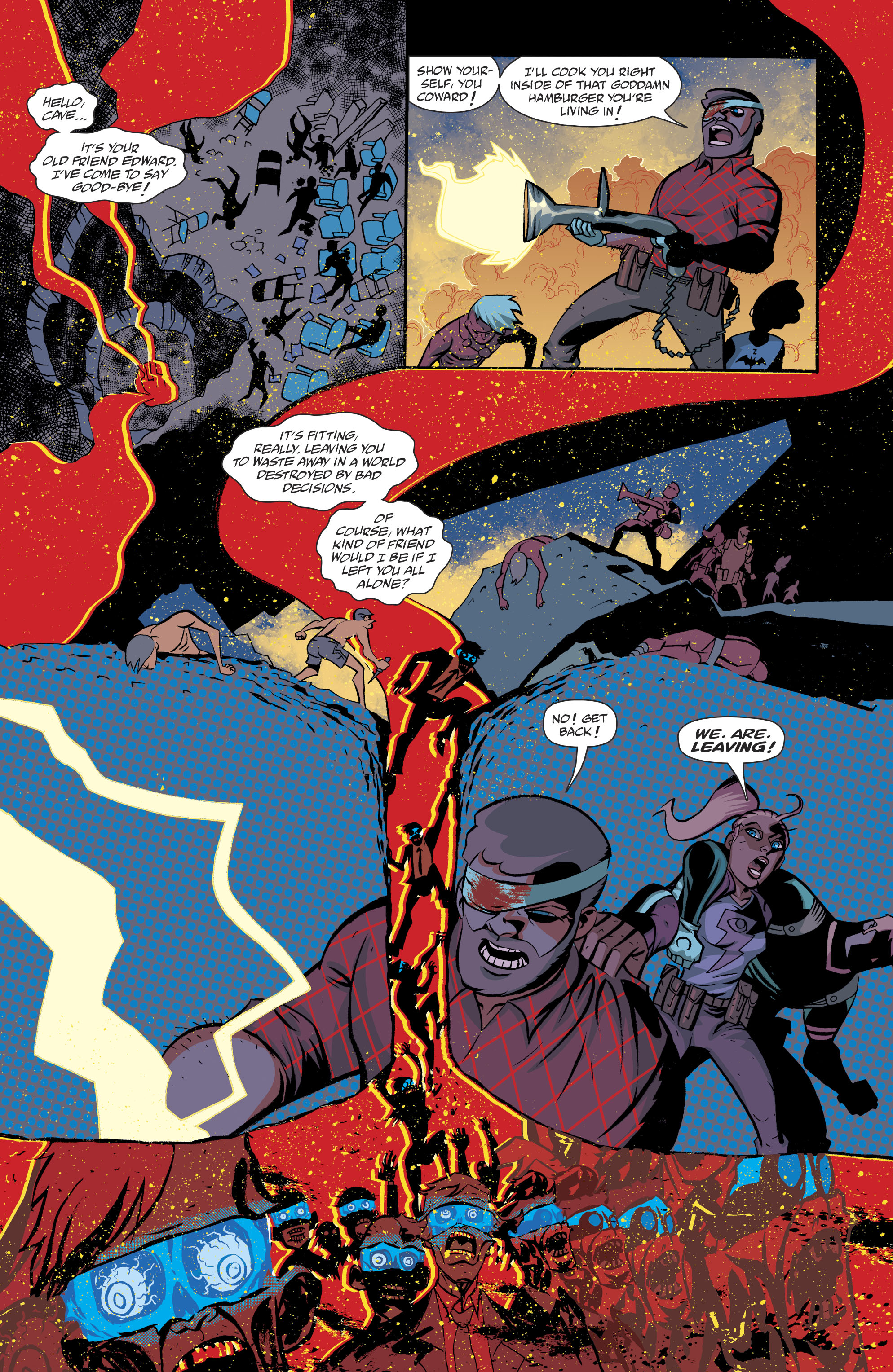 Read online Cave Carson Has a Cybernetic Eye comic -  Issue #8 - 21