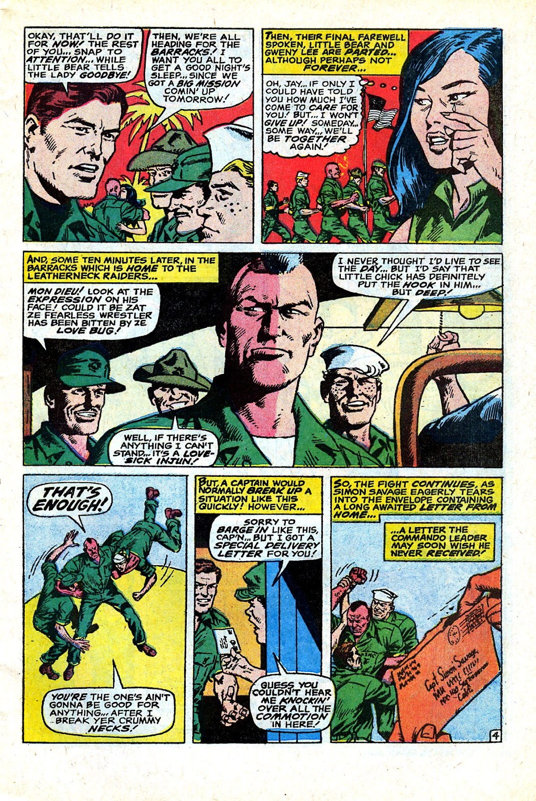 Captain Savage and his Leatherneck Raiders issue 18 - Page 7