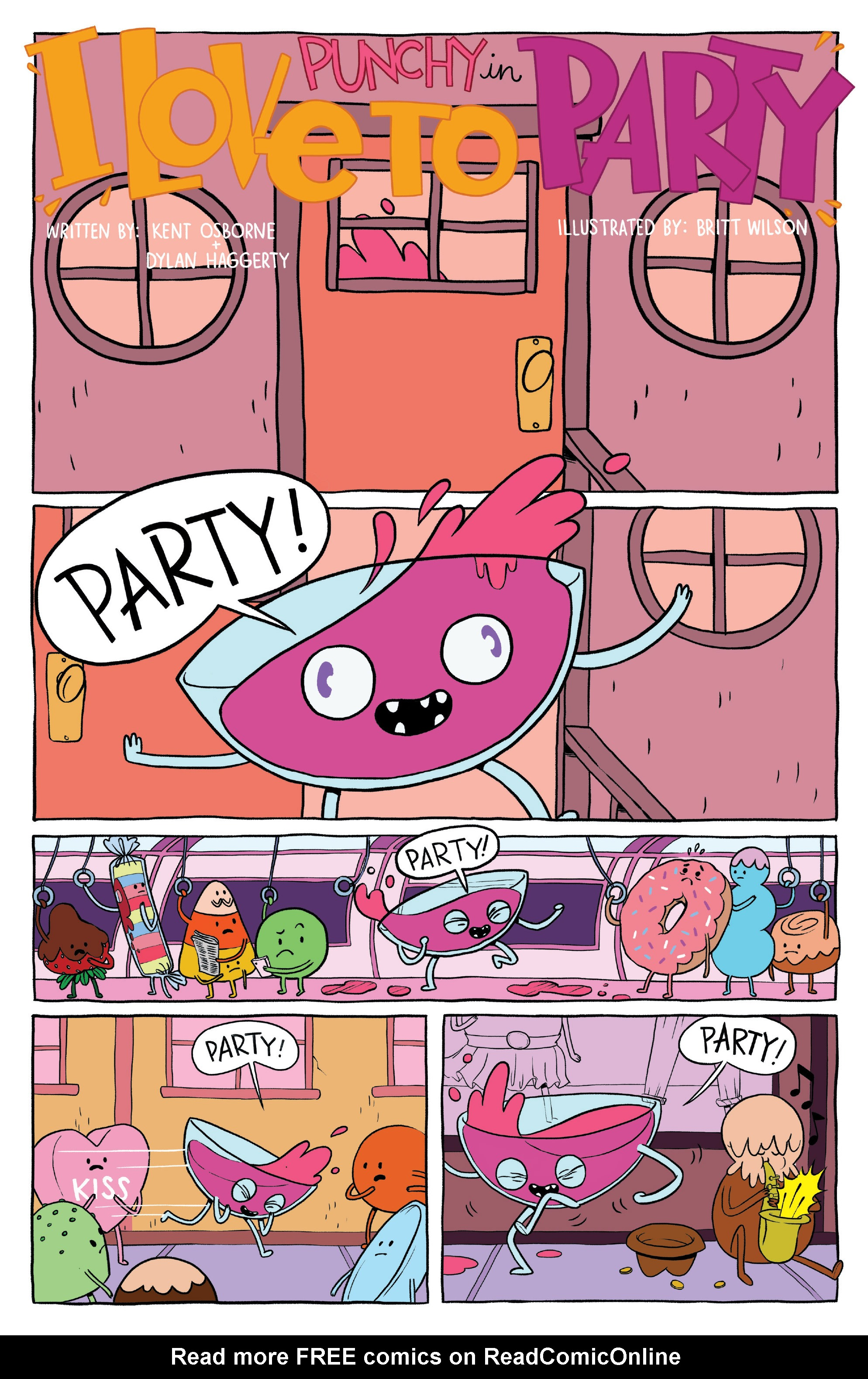 Read online Adventure Time: Banana Guard Academ comic -  Issue #1 - 21