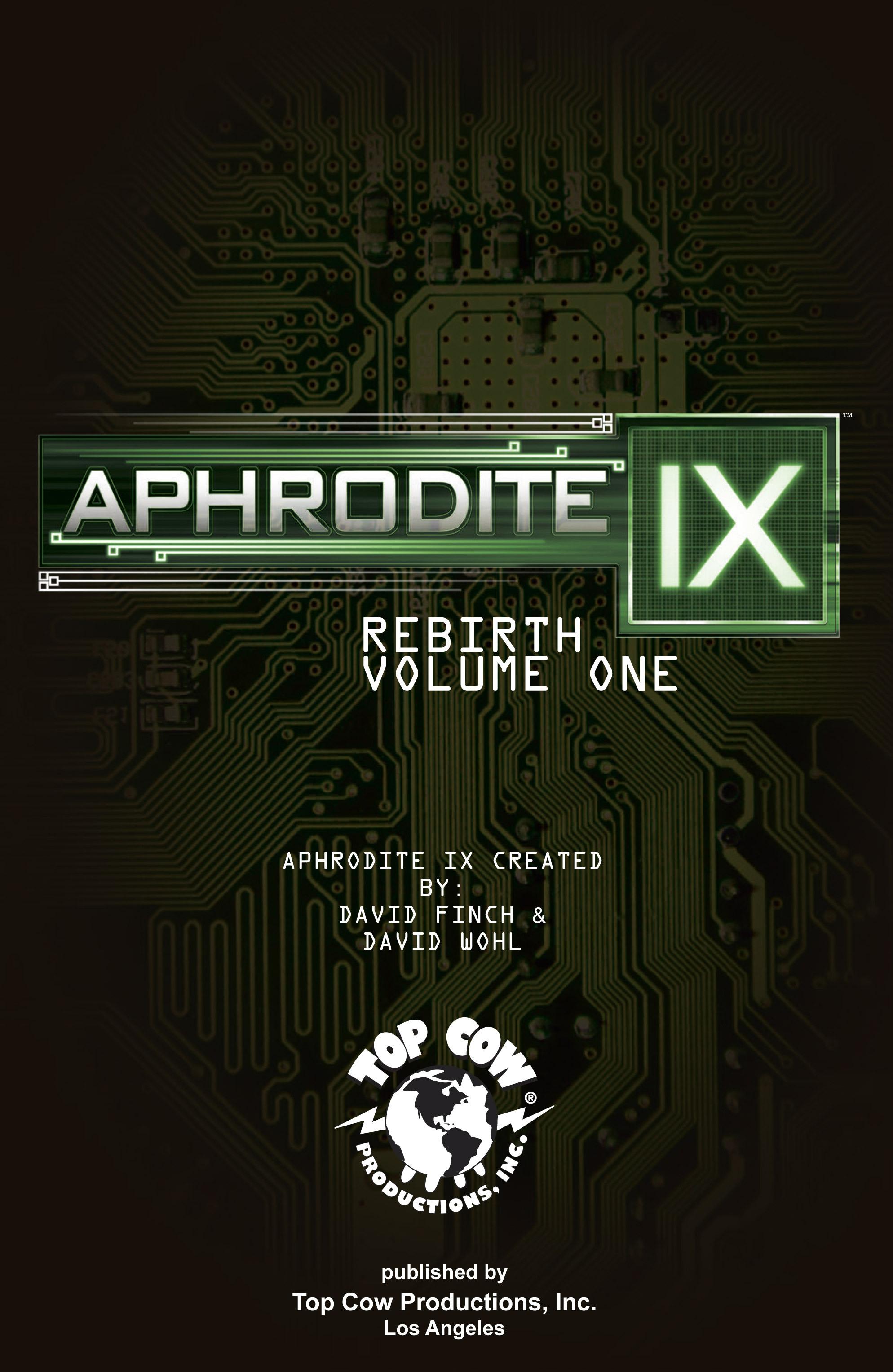 Read online Aphrodite IX (2013) comic -  Issue #Aphrodite IX (2013) _TPB 1 - 2