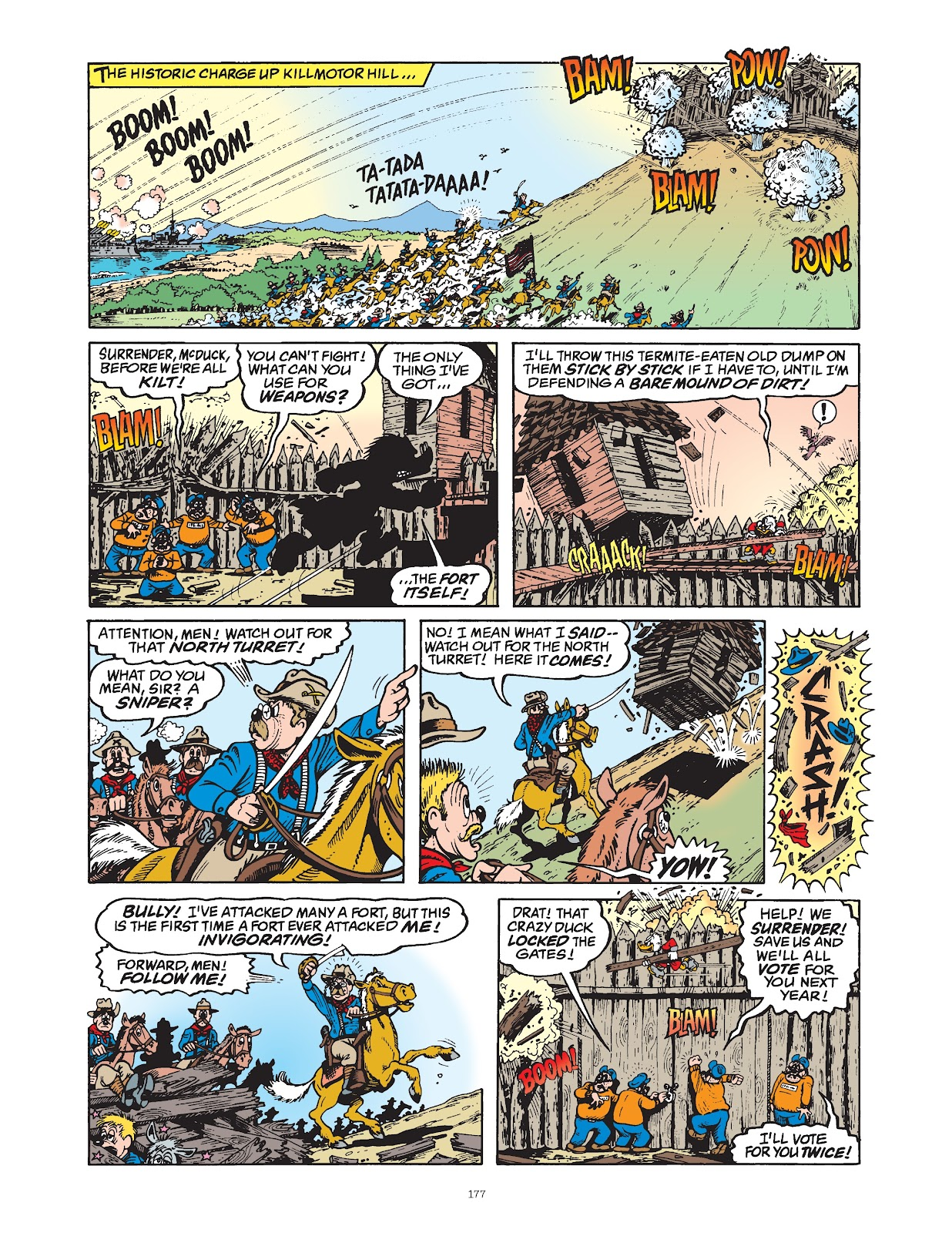 Read online The Complete Life and Times of Scrooge McDuck comic -  Issue # TPB 1 (Part 2) - 73