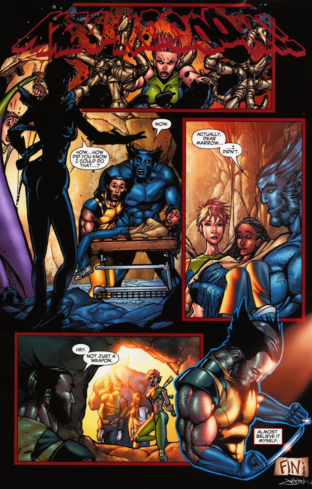 Read online Wolverine (2003) comic -  Issue #900 - 45