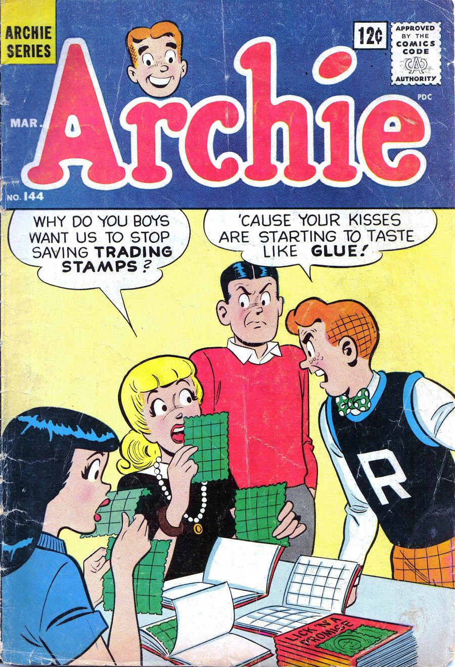 Read online Archie (1960) comic -  Issue #144 - 1
