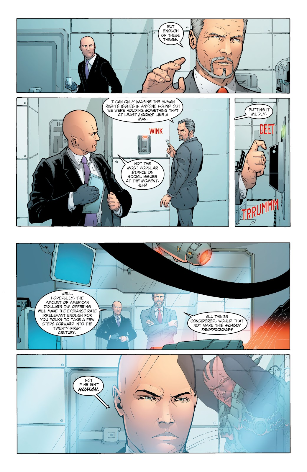 Read online Smallville Season 11 [II] comic -  Issue # TPB 6 - 93