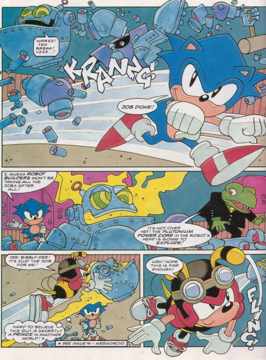 Read online Sonic the Comic comic -  Issue #121 - 19