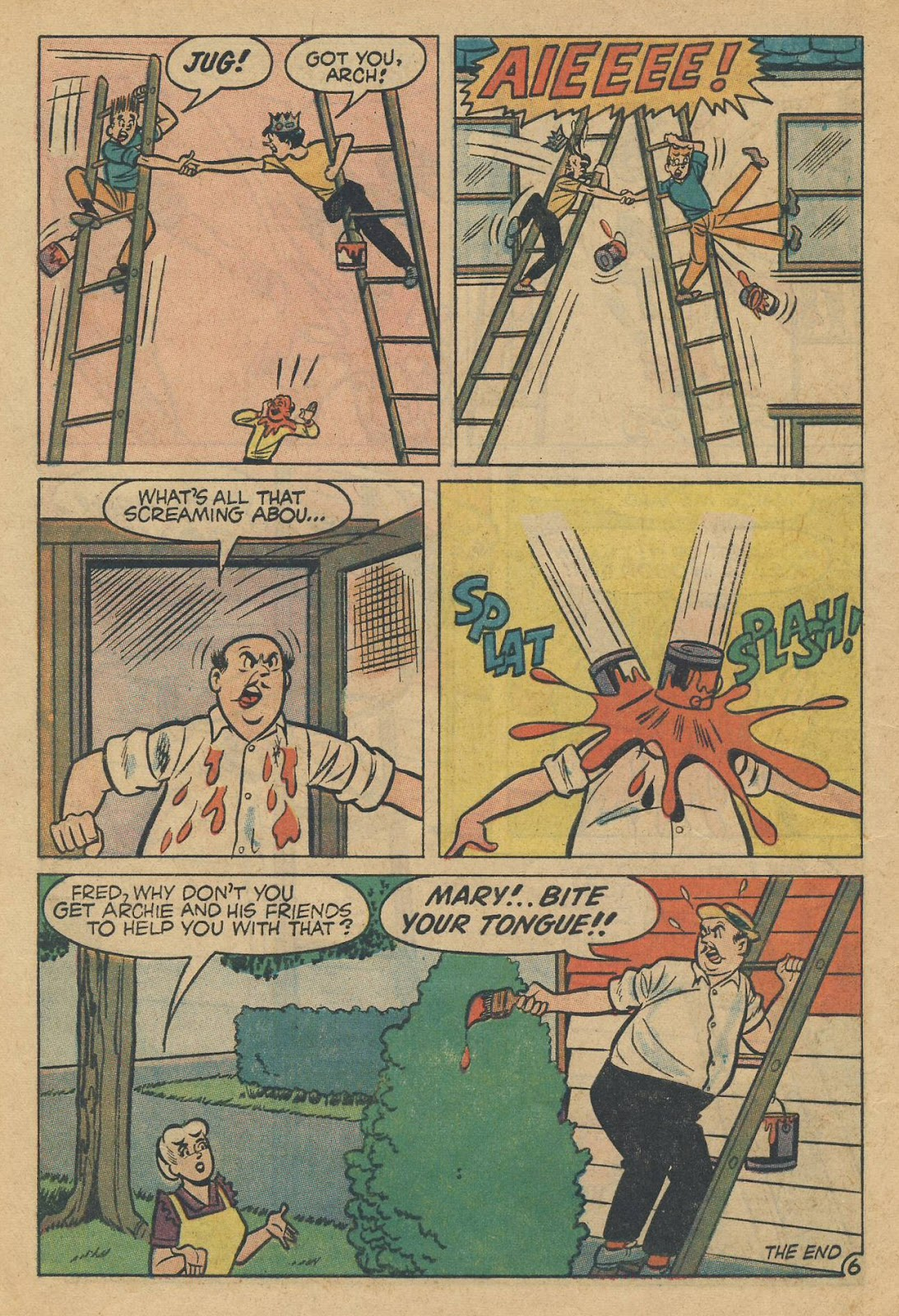 Read online Archie (1960) comic -  Issue #170 - 8