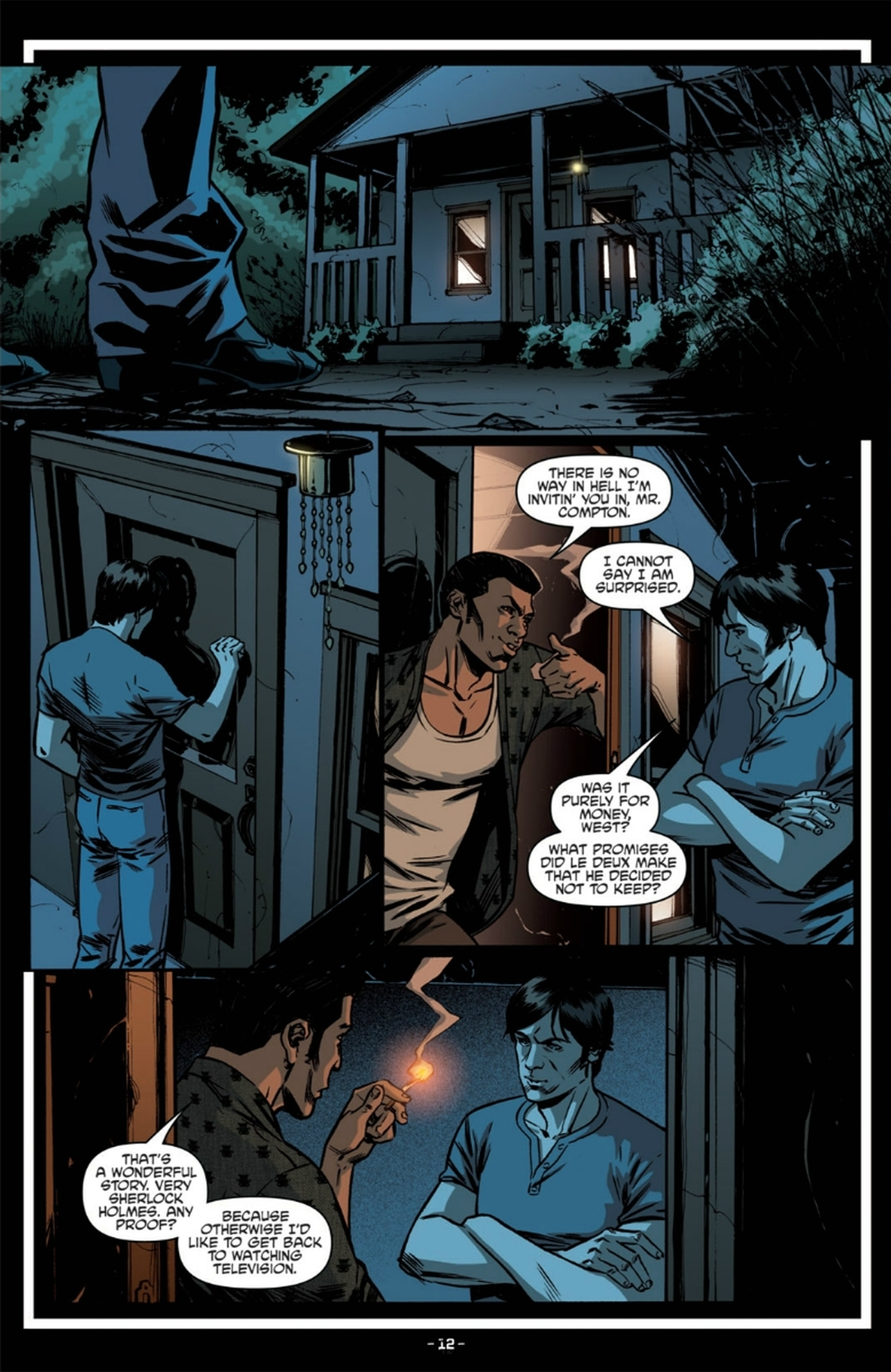 Read online True Blood: French Quarter comic -  Issue #6 - 16