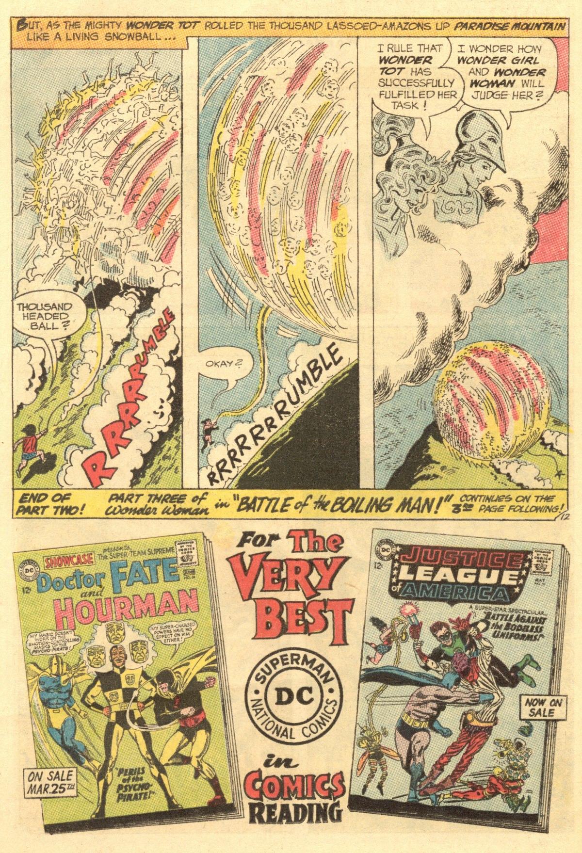 Read online Wonder Woman (1942) comic -  Issue #154 - 16