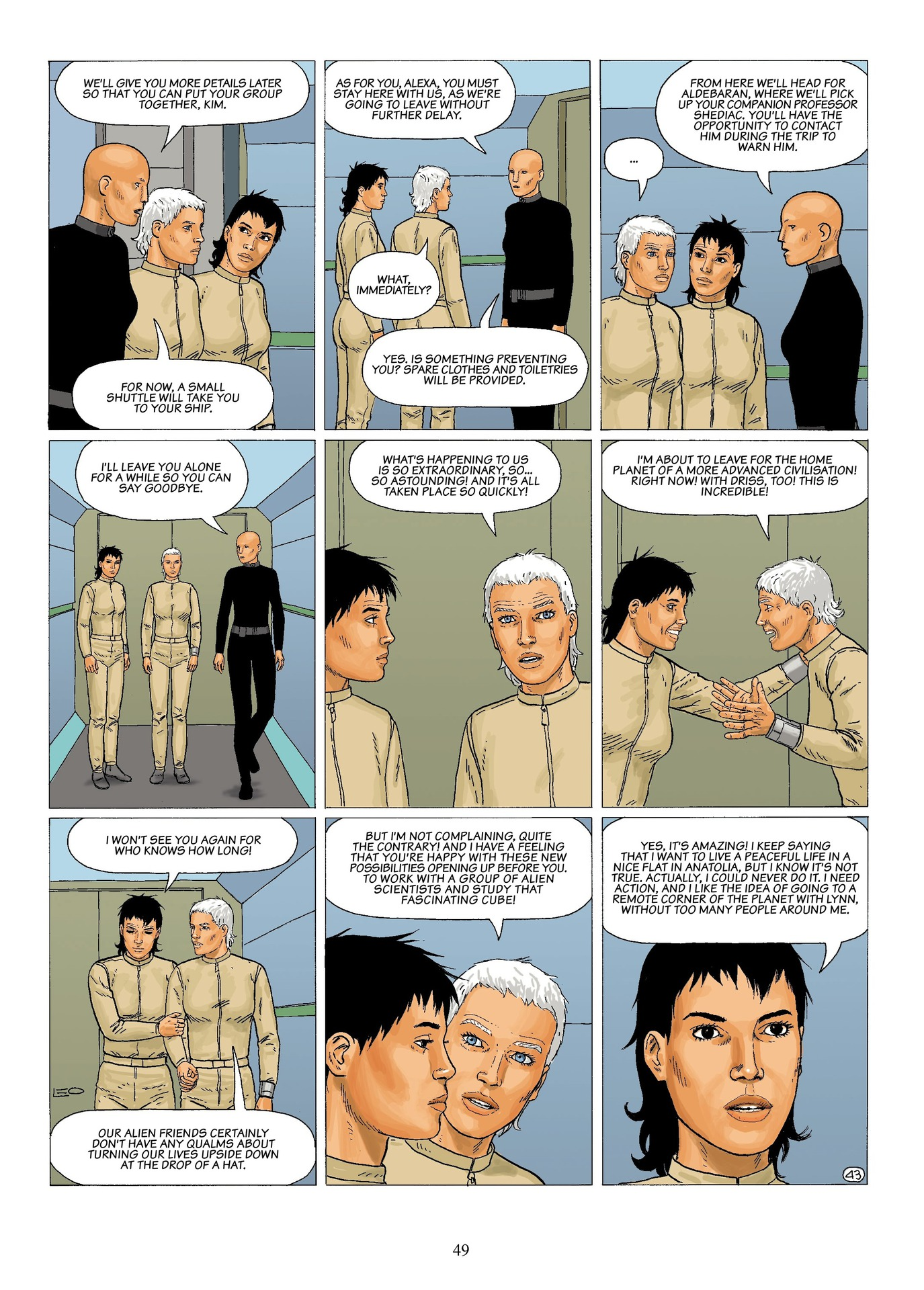 Read online Antares comic -  Issue #6 - 51