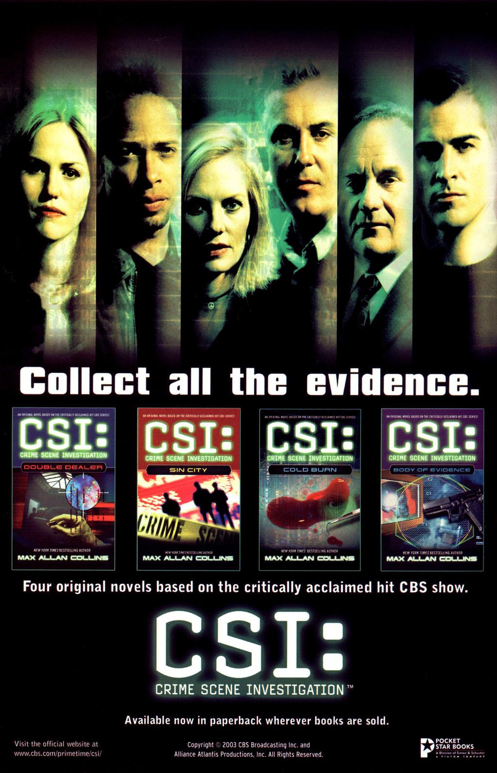 Read online CSI: Crime Scene Investigation: Bad Rap comic -  Issue #4 - 31