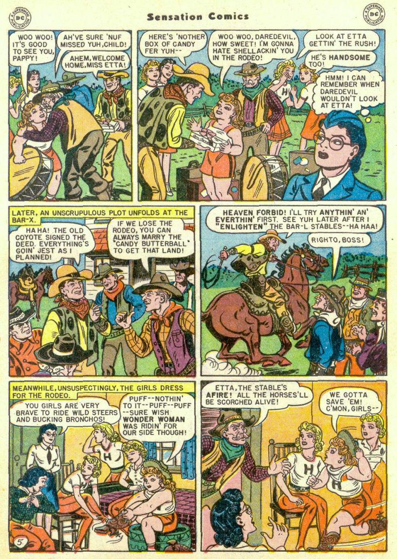 Read online Sensation (Mystery) Comics comic -  Issue #67 - 7