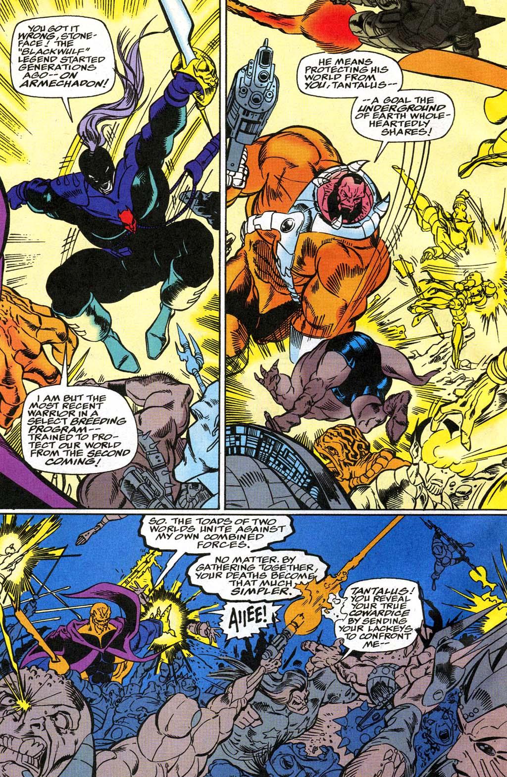 Read online Blackwulf comic -  Issue #8 - 14