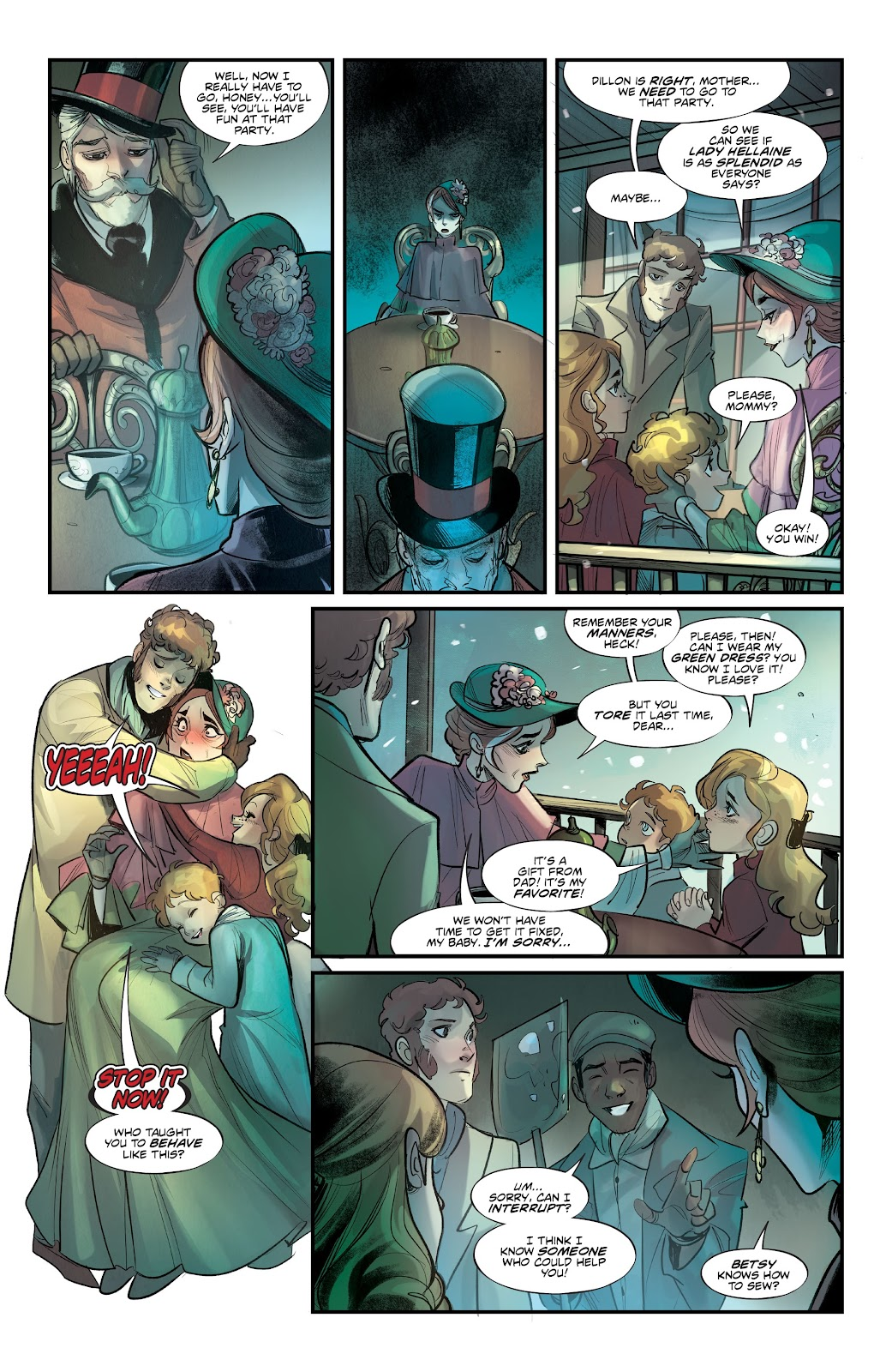 Read online Mirka Andolfo's Mercy comic -  Issue #2 - 11