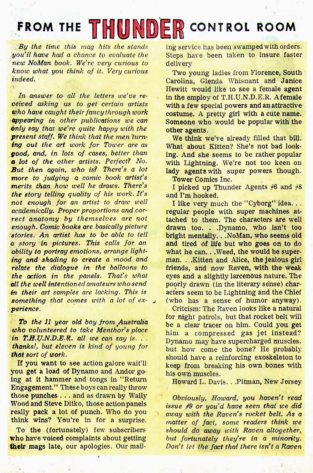 T.H.U.N.D.E.R. Agents (1965) issue 13 - Page 33