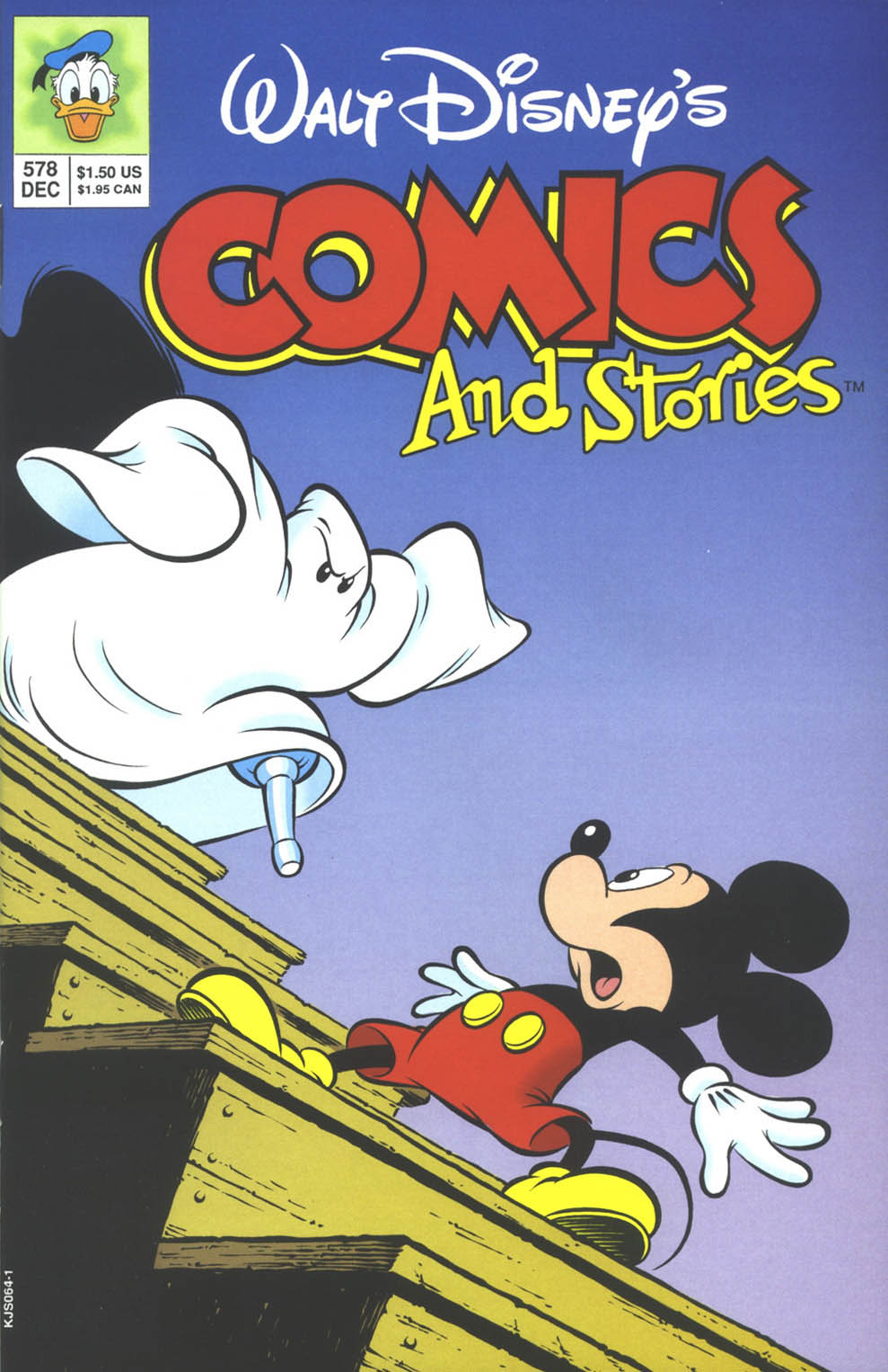 Walt Disneys Comics and Stories 578 Page 1