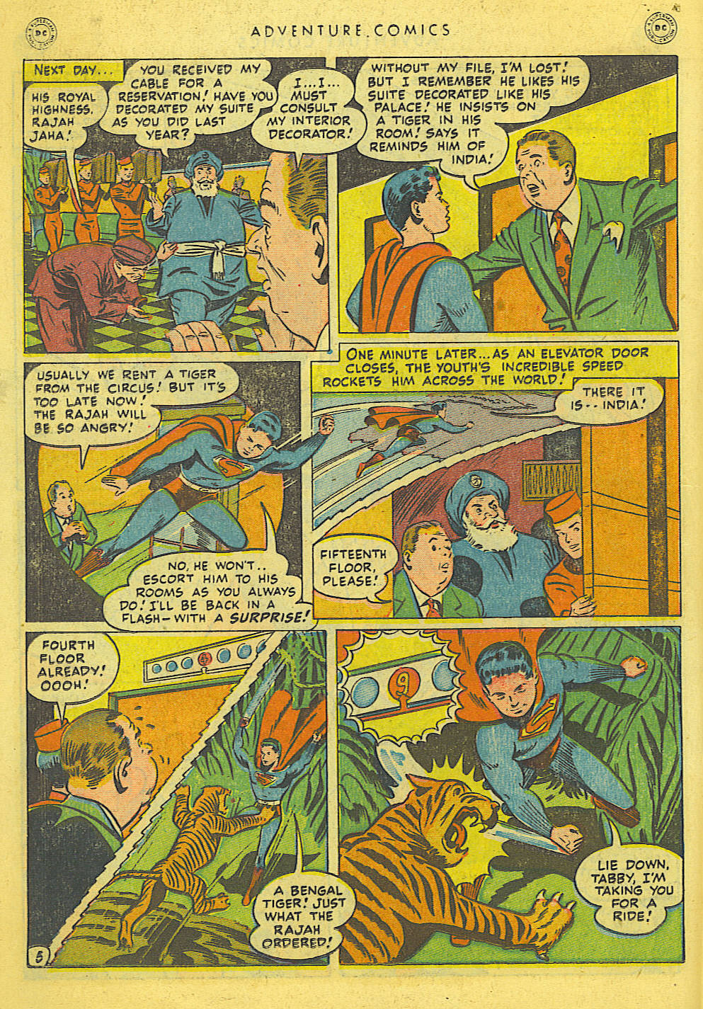 Read online Adventure Comics (1938) comic -  Issue #127 - 22