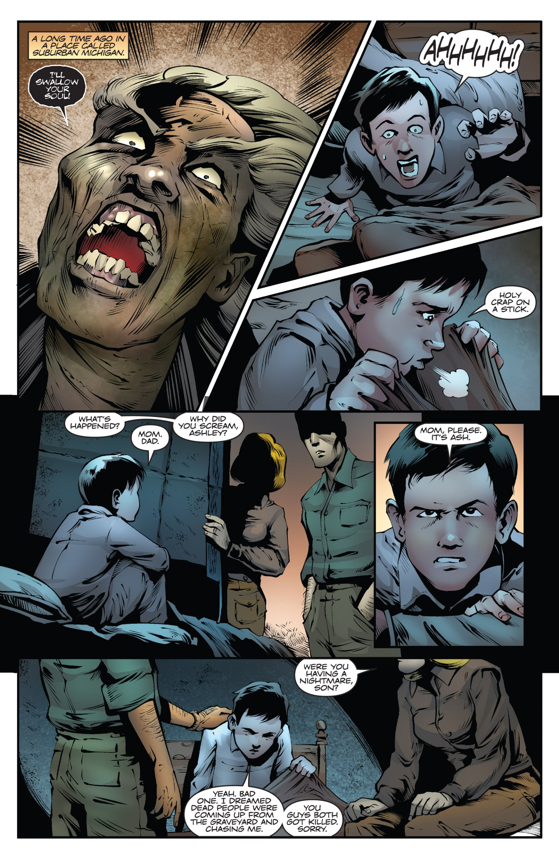 Read online Ash and the Army of Darkness comic -  Issue #6 - 3