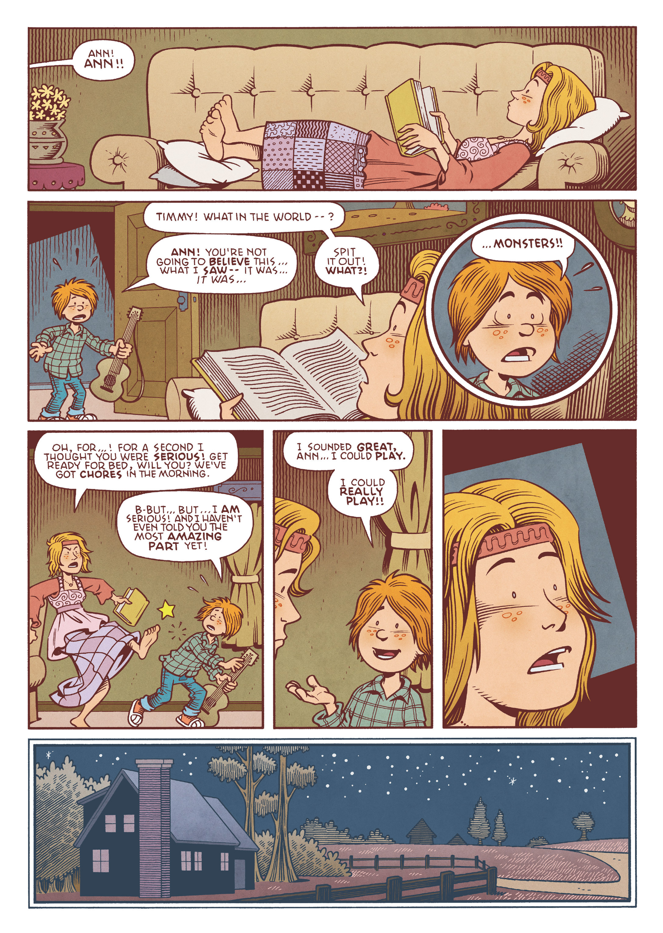 Read online Jim Henson's The Musical Monsters of Turkey Hollow comic -  Issue # Full - 32