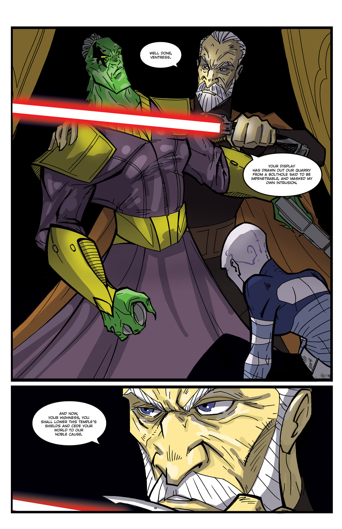 Read online Star Wars: Tales From The Clone Wars comic -  Issue # TPB - 45