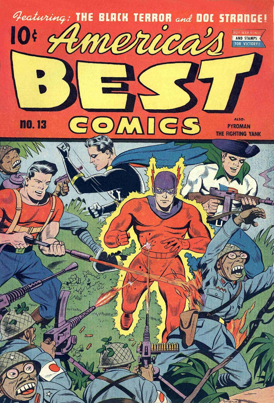 Read online America's Best Comics comic -  Issue #13 - 2