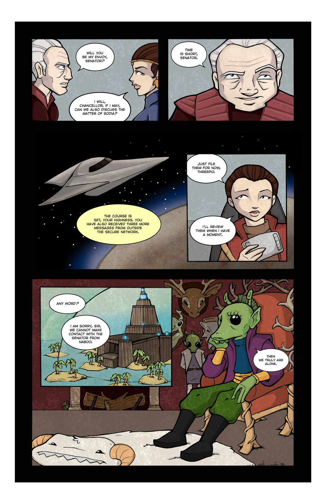 Read online Star Wars: Tales From The Clone Wars comic -  Issue # TPB - 30