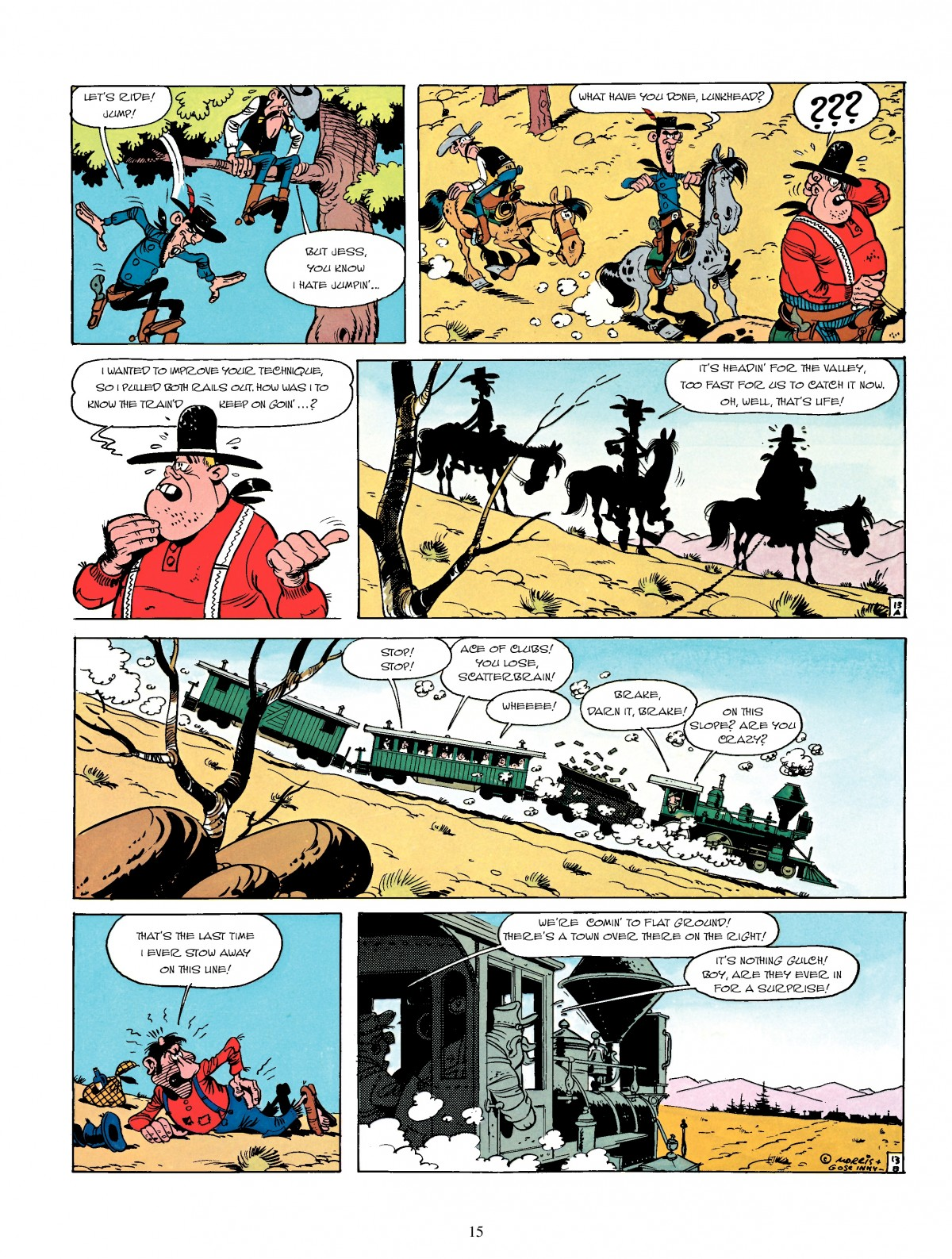 Read online A Lucky Luke Adventure comic -  Issue #4 - 17