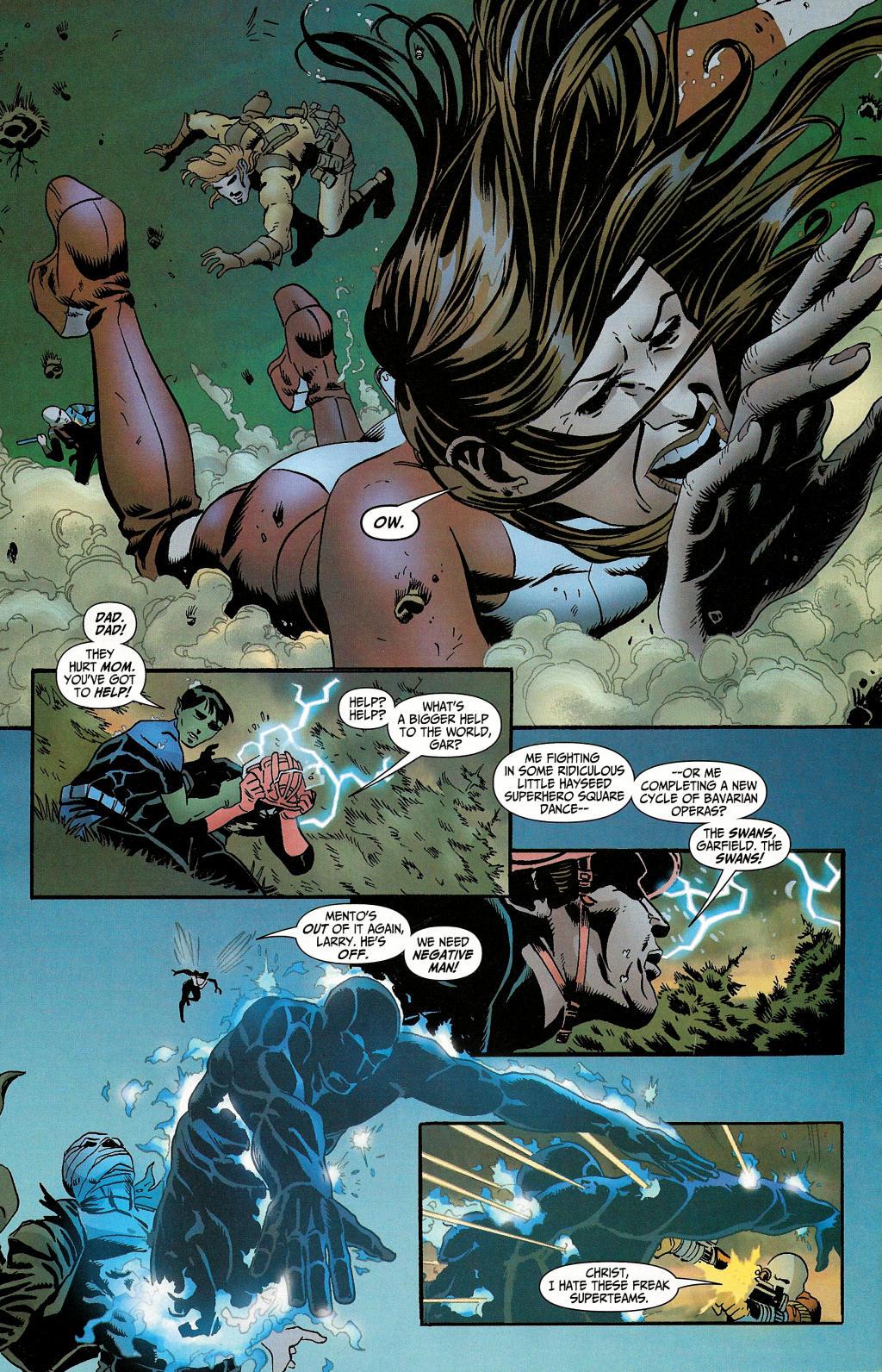 Read online Secret Six (2006) comic -  Issue #4 - 14