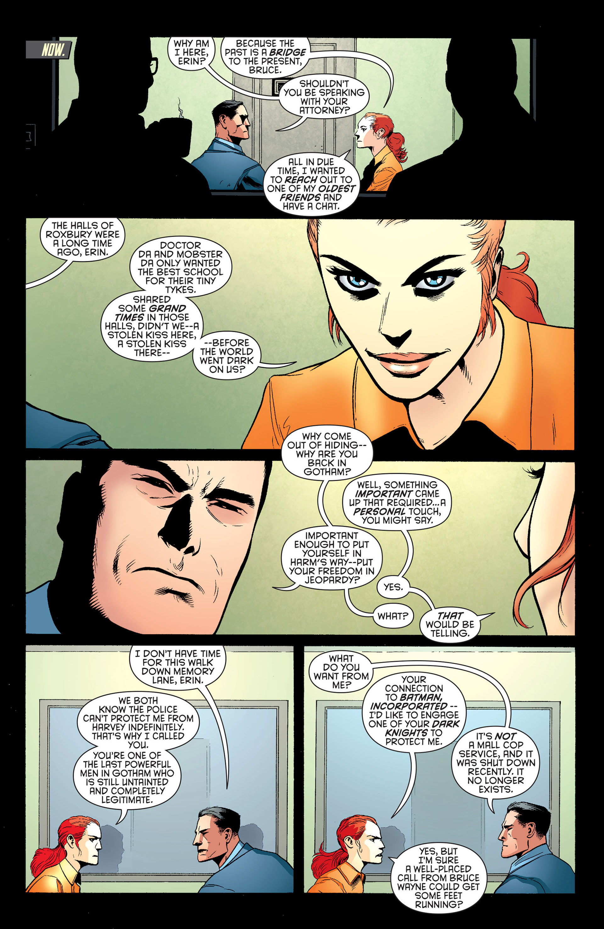 Read online Batman and Robin (2011) comic -  Issue #25 - Batman and Two-Face - 13