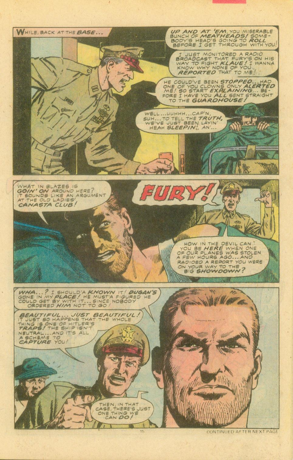 Read online Sgt. Fury comic -  Issue #155 - 17