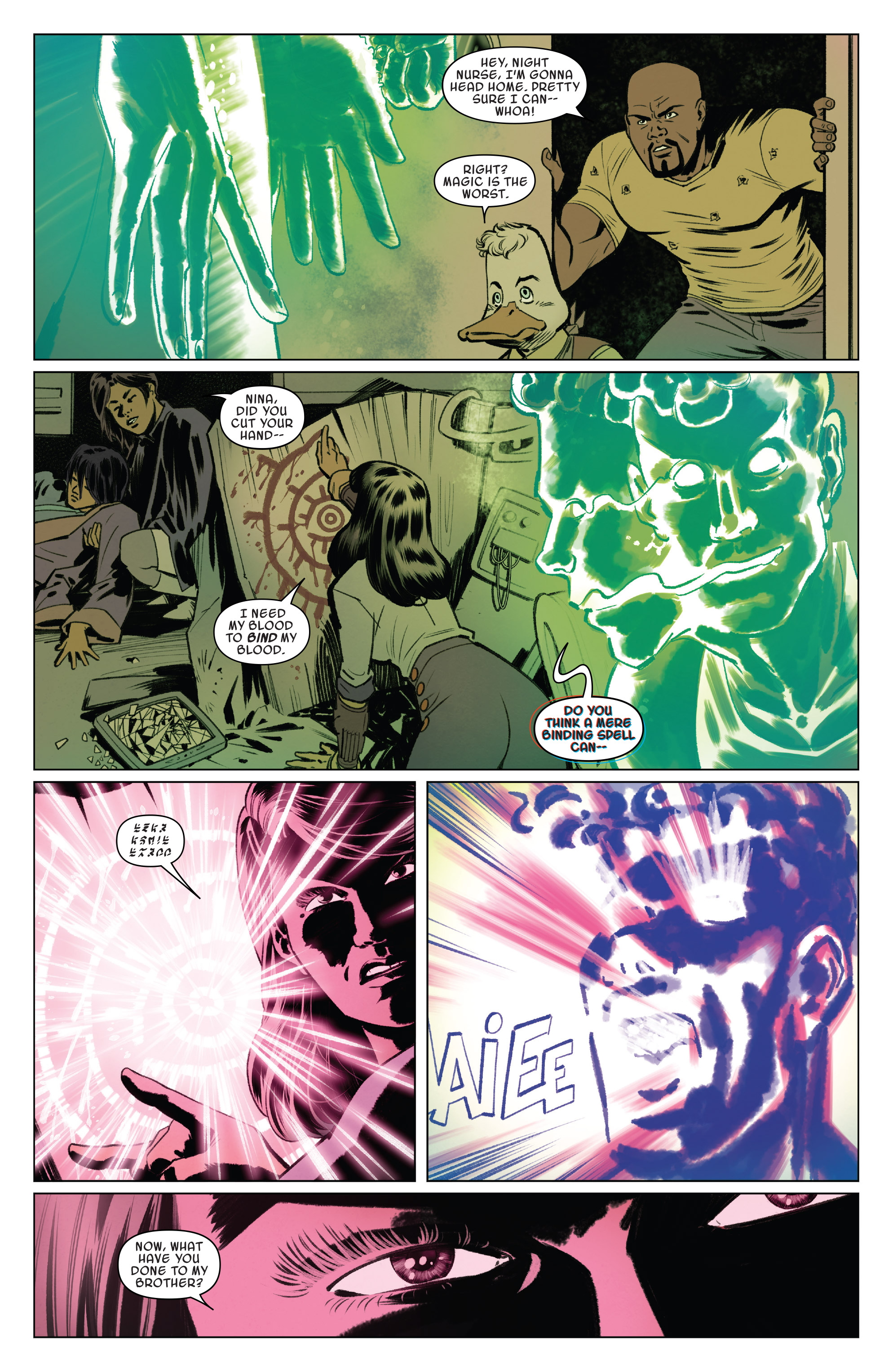 Read online Doctor Strange and the Sorcerers Supreme comic -  Issue #8 - 4