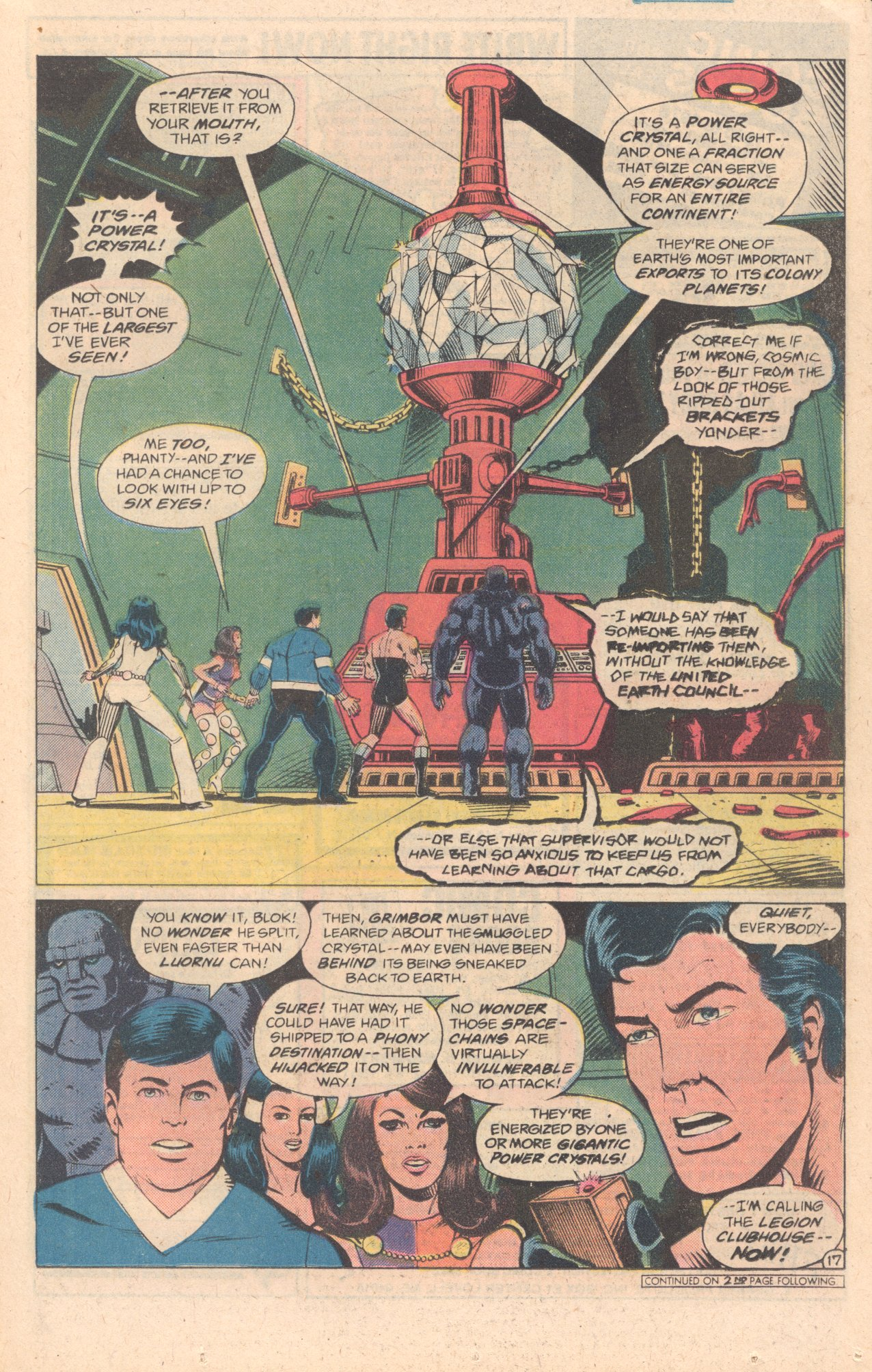 Legion of Super-Heroes (1980) 278 Page 17