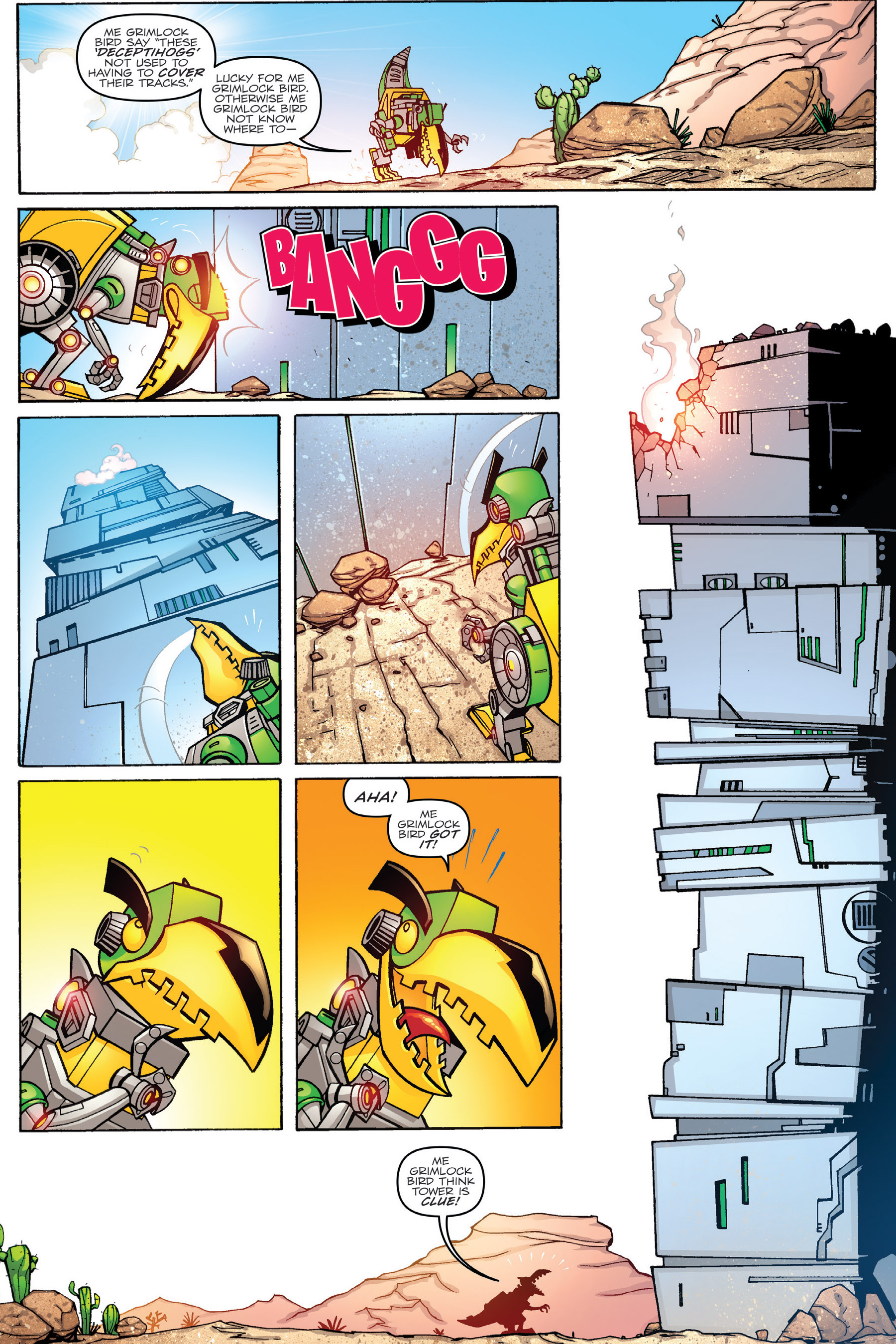 Read online Angry Birds Transformers: Age of Eggstinction comic -  Issue # Full - 37