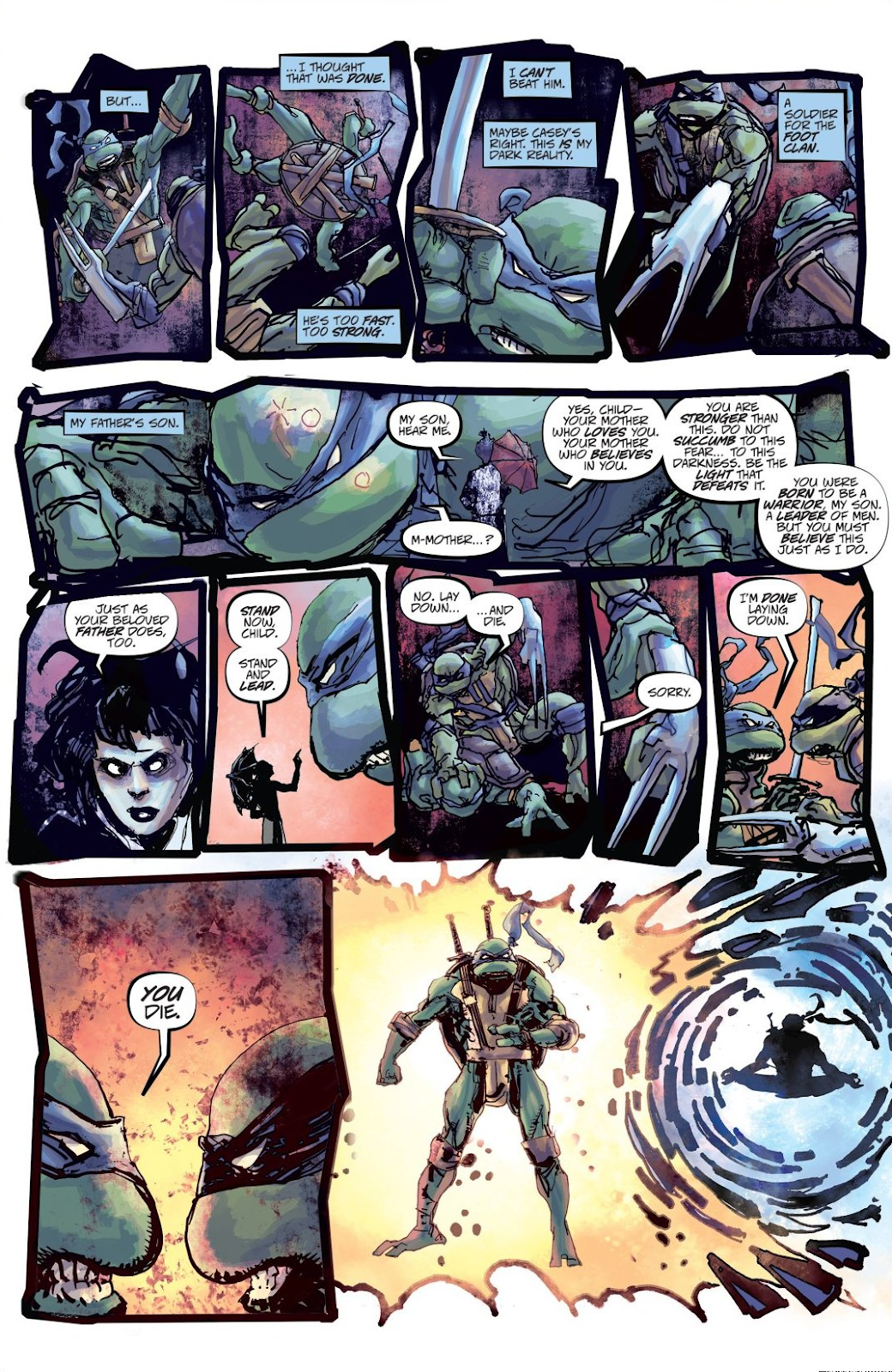 Read online Teenage Mutant Ninja Turtles: The IDW Collection comic -  Issue # TPB 8 (Part 3) - 22