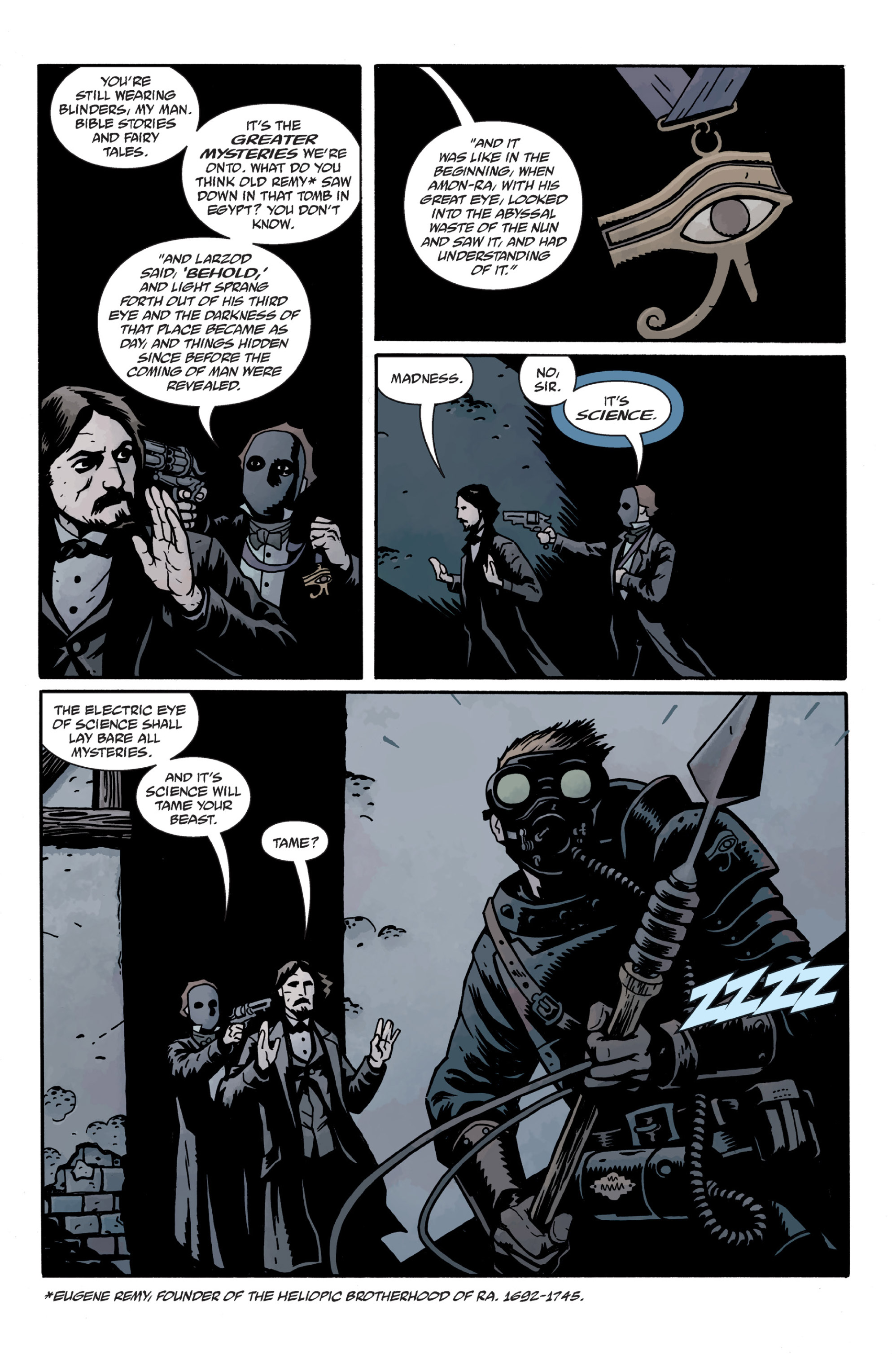 Read online Sir Edward Grey, Witchfinder: In the Service of Angels comic -  Issue # TPB - 84