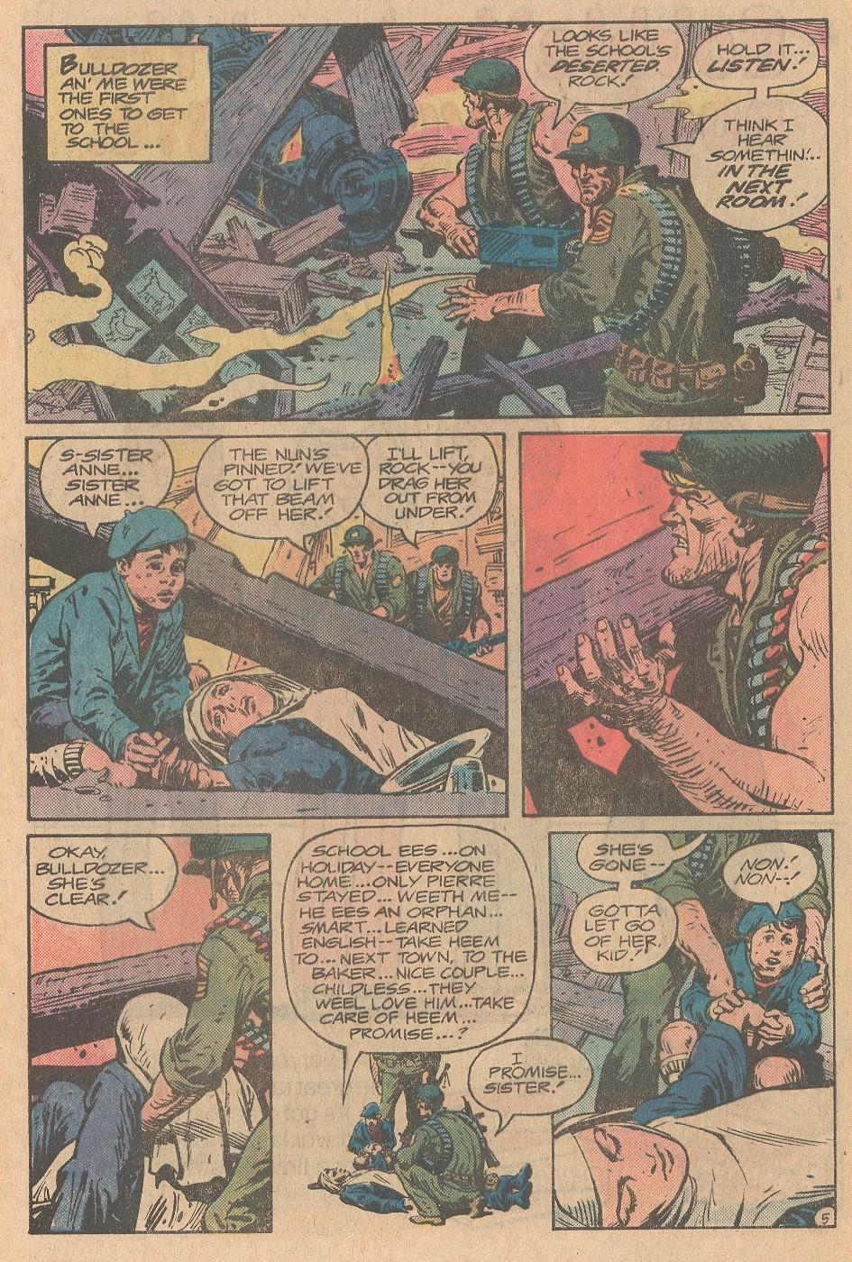 Read online Sgt. Rock comic -  Issue #357 - 6