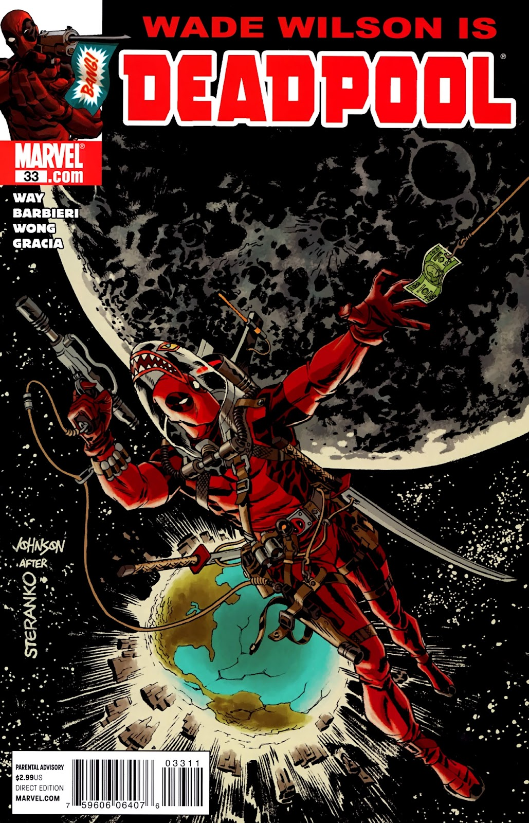 Read online Deadpool (2008) comic -  Issue #33 - 1