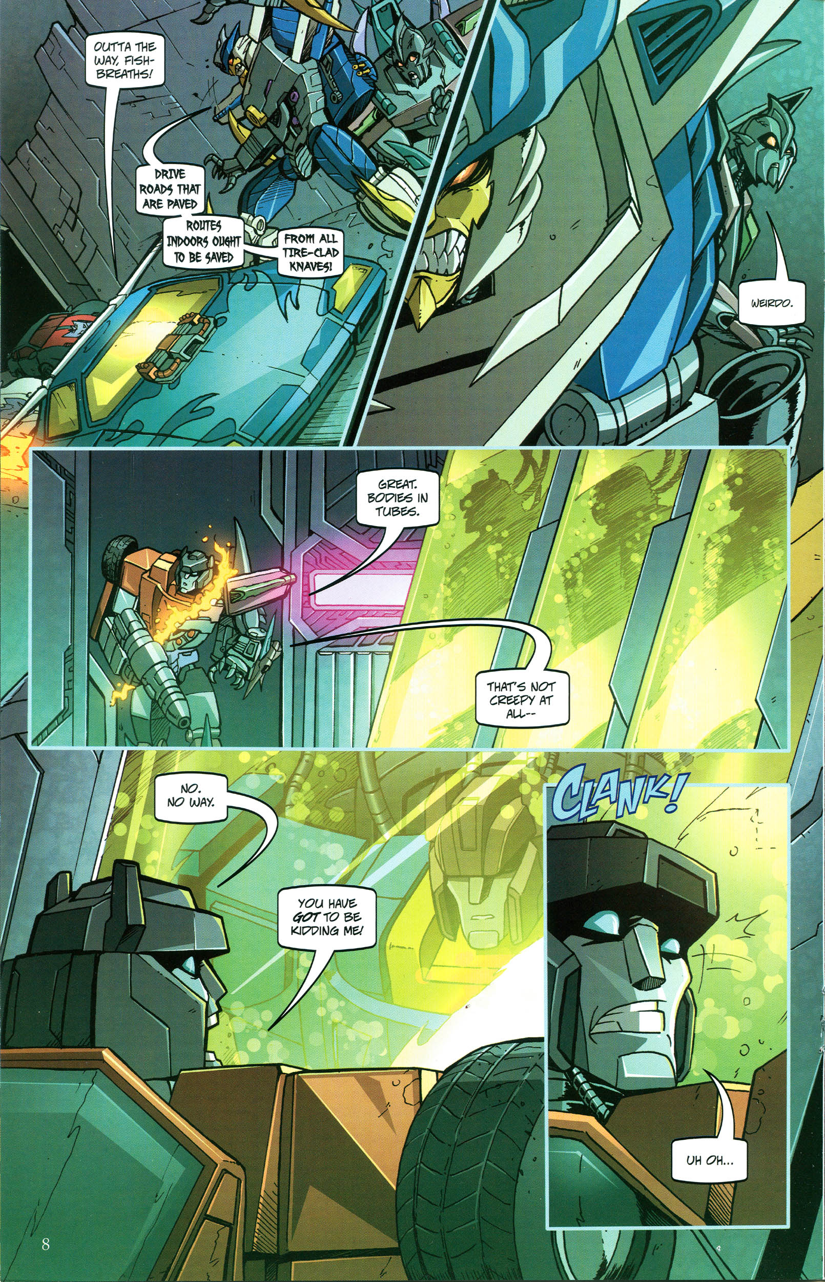 Read online Transformers: Collectors' Club comic -  Issue #47 - 8