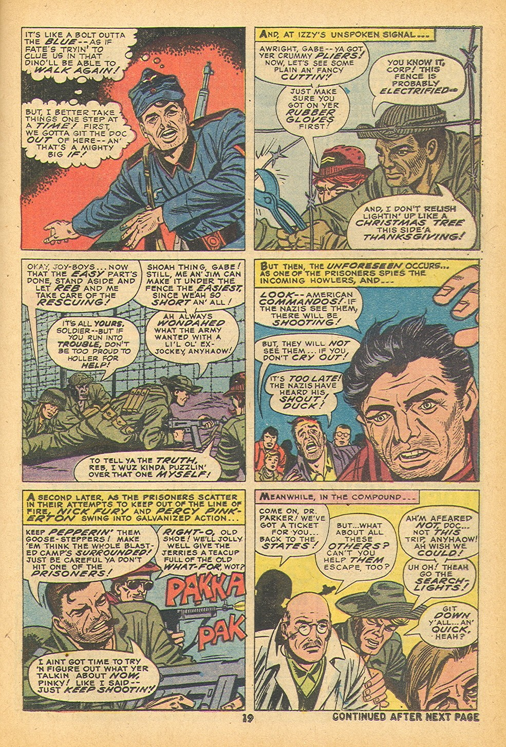 Read online Sgt. Fury comic -  Issue #109 - 21