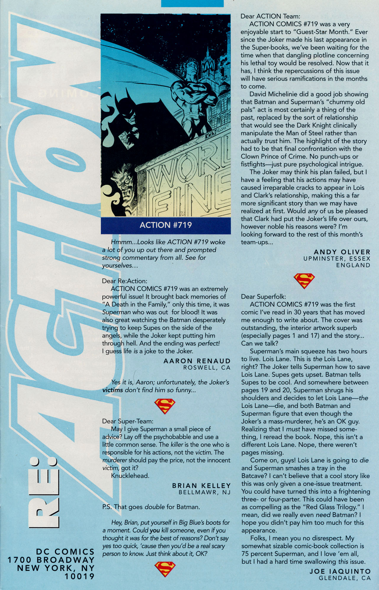 Read online Action Comics (1938) comic -  Issue #723 - 33
