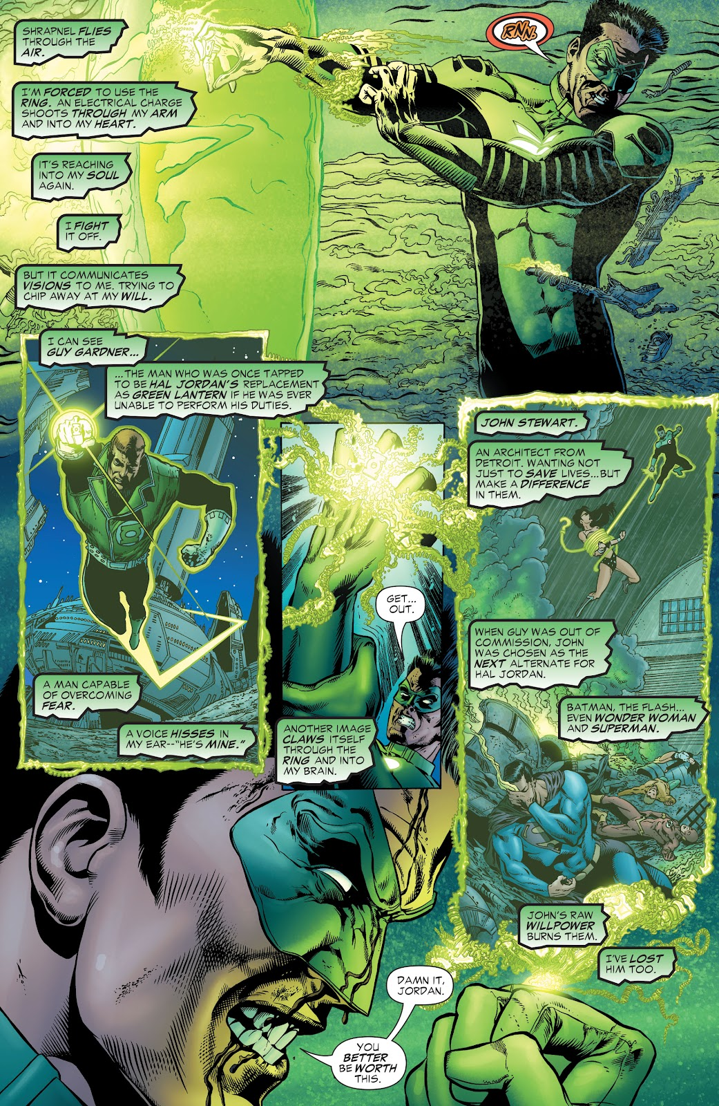 Read online Green Lantern by Geoff Johns comic -  Issue # TPB 1 (Part 1) - 71